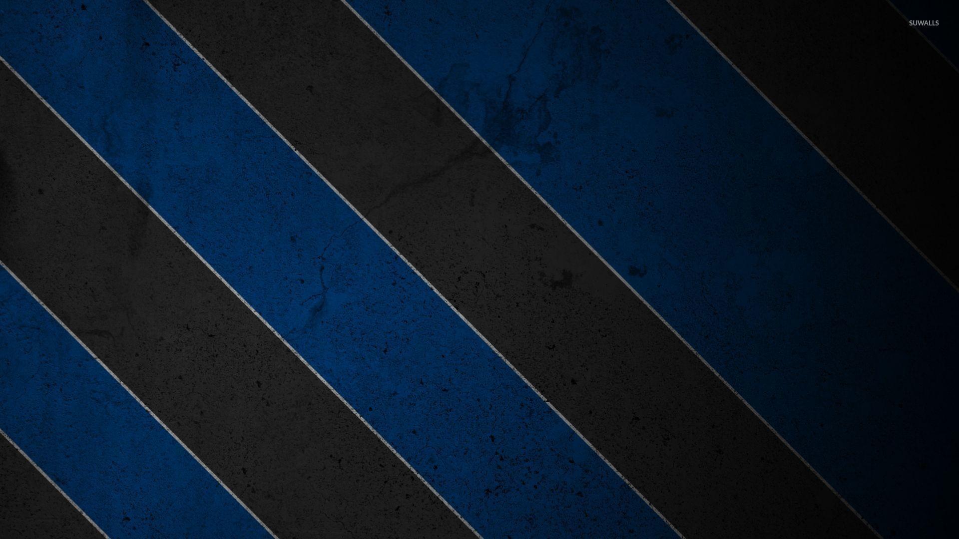 Texturized black and blue stripes wallpaper jpg