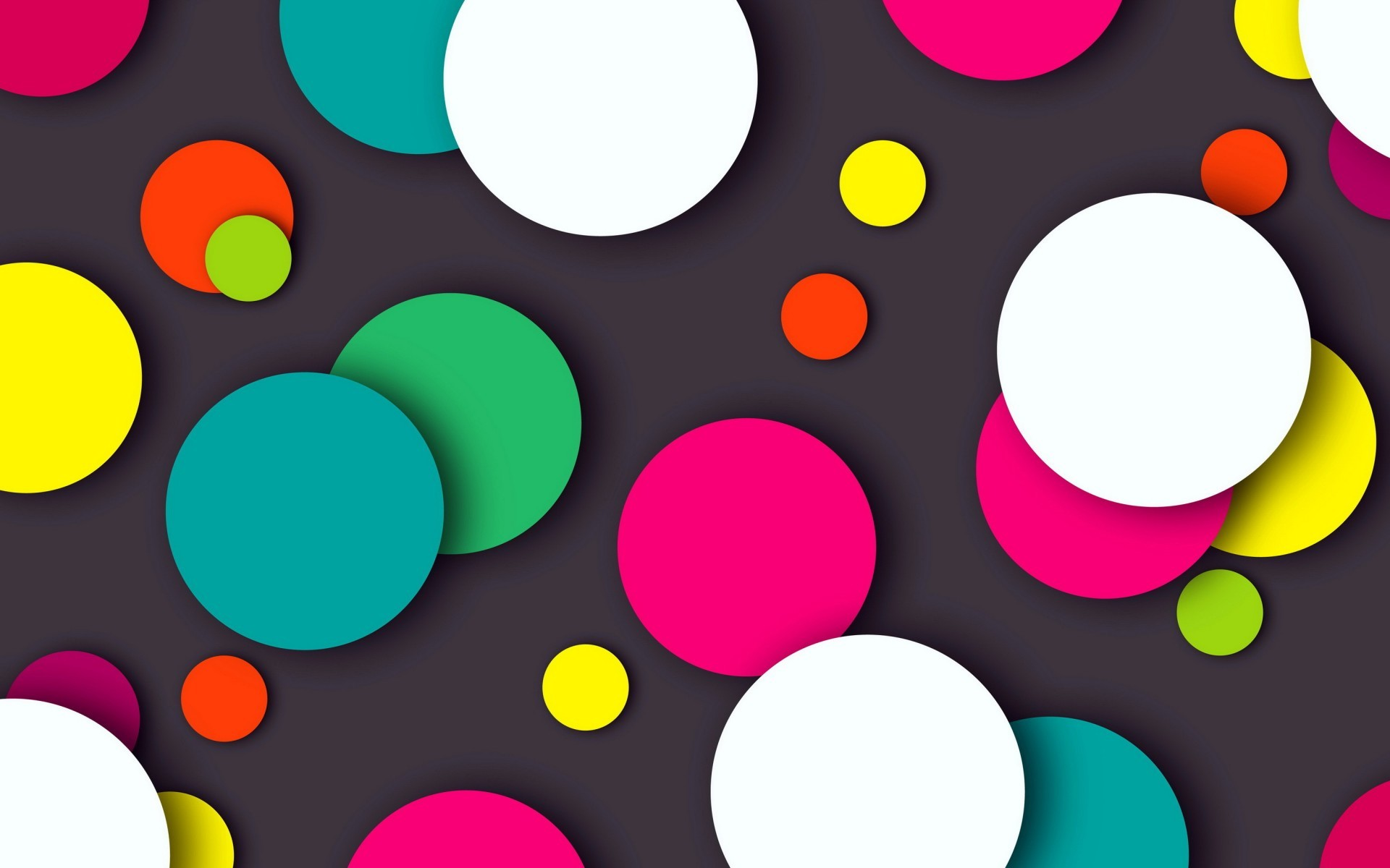 Abstract / Colorful Dots Wallpaper