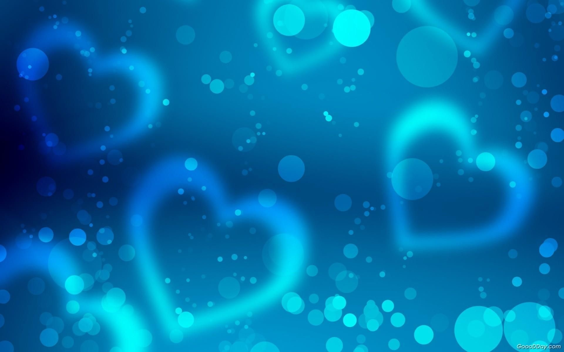 Cute Blue Heart Backgrounds 12494 Full Hd Wallpaper Desktop Res .