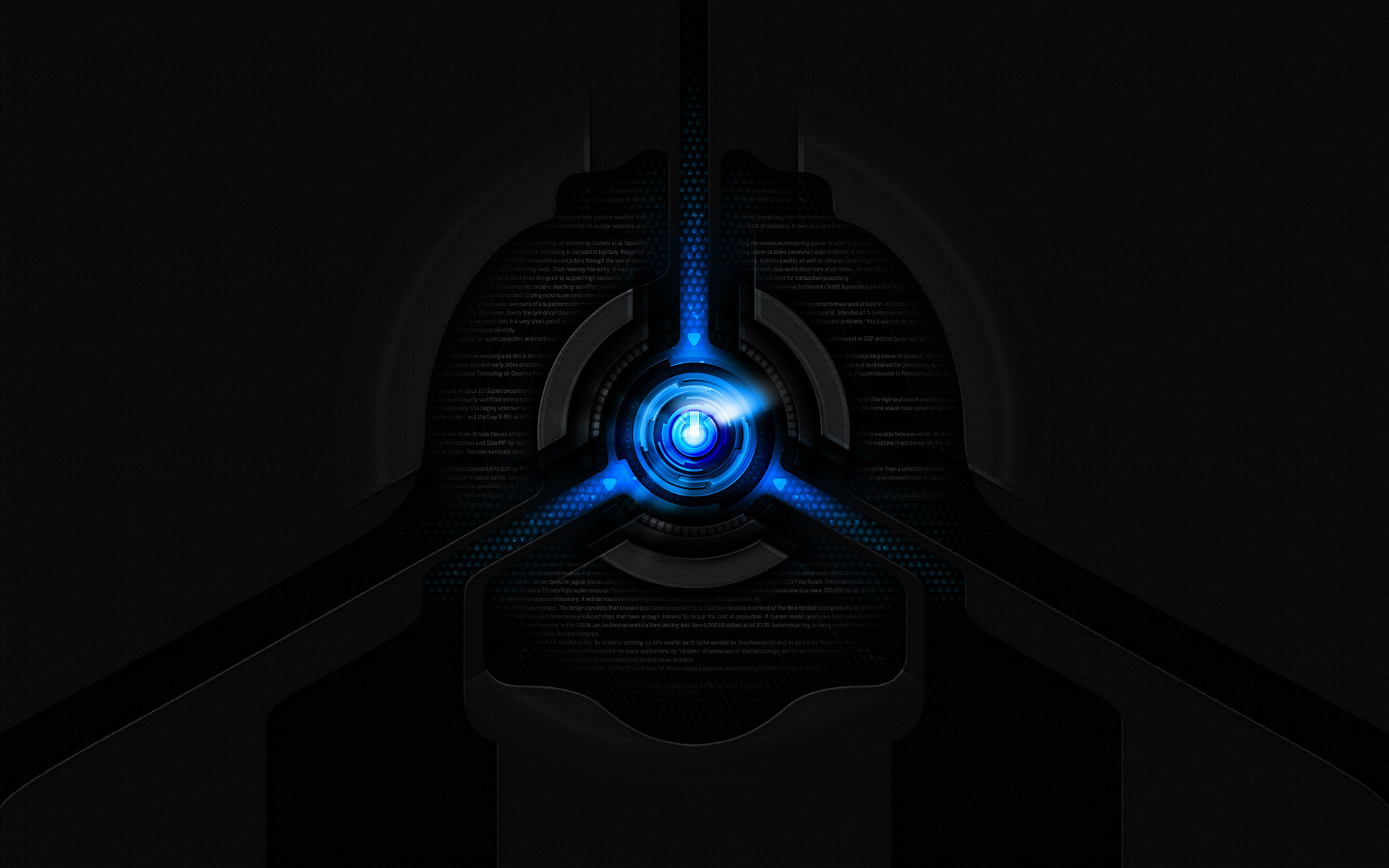 Black And Blue Logo Wallpaper HD 29919