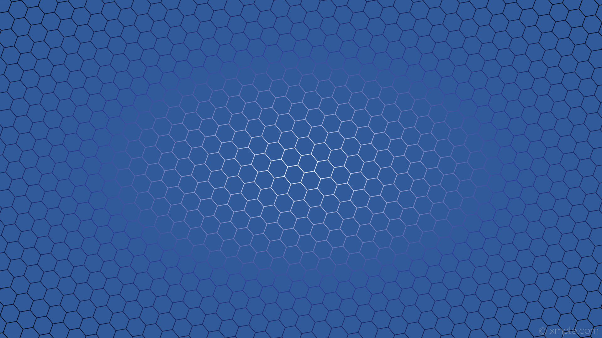 wallpaper black blue hexagon white azure glow gradient #305a99 #ffffff  #303a99 diagonal 40
