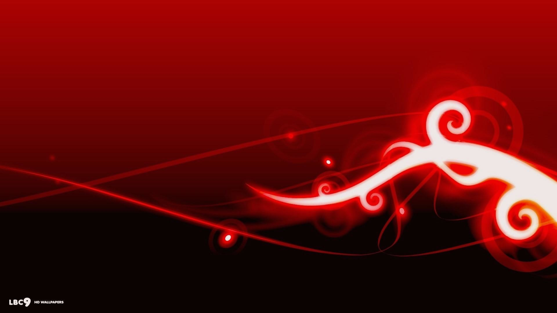 Red Abstract full hd