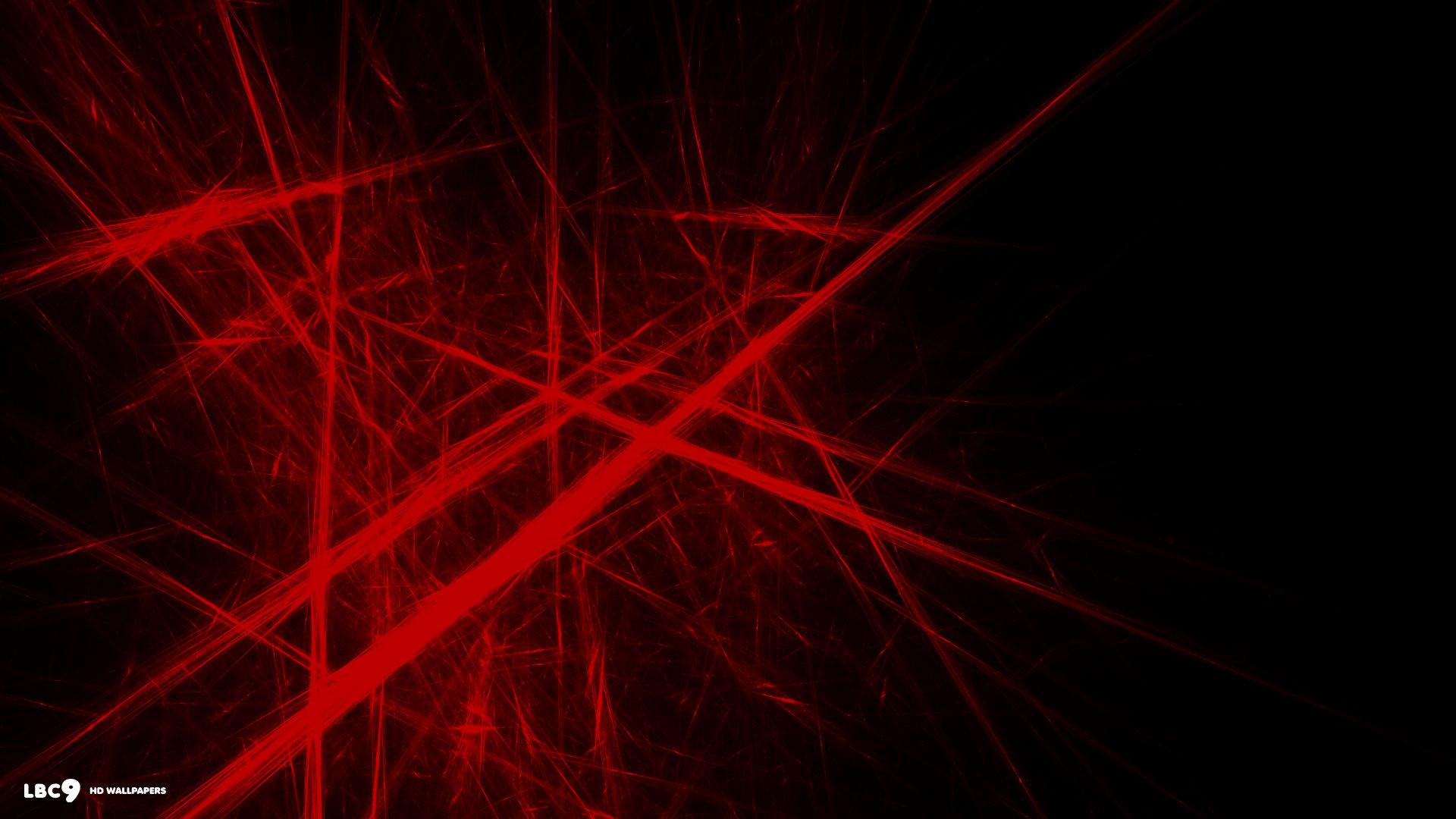 light abstract red lines desktop 1920×1080