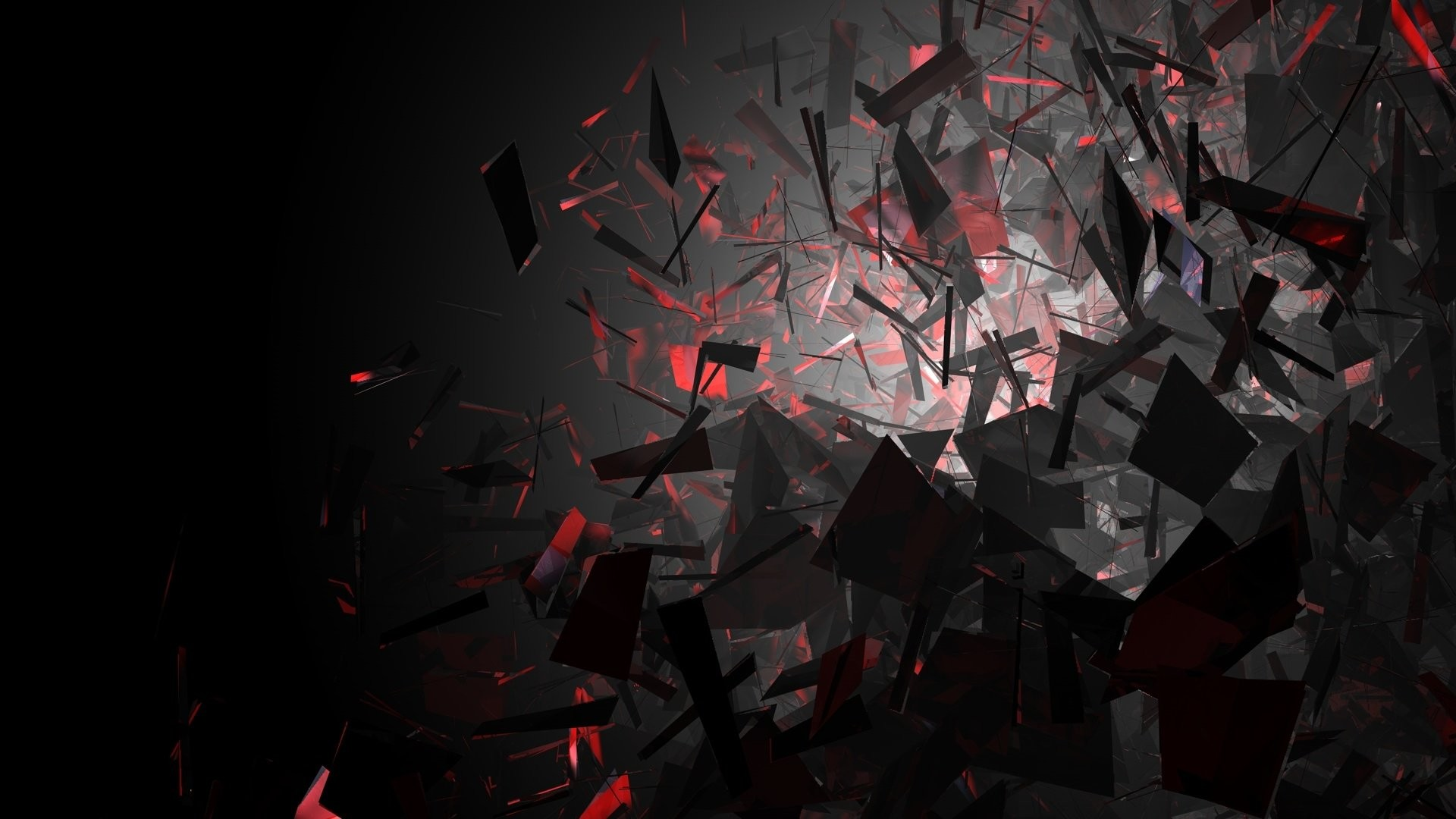 61 Red Abstract Hd