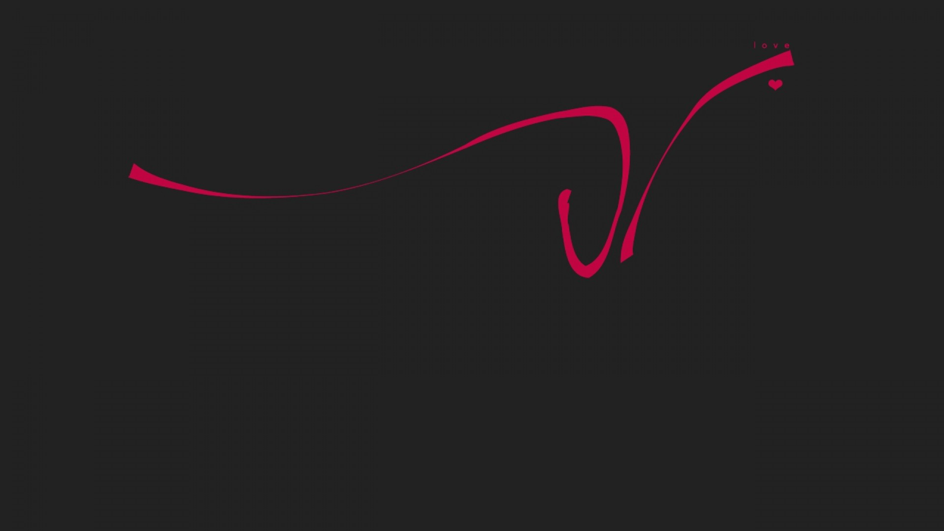 Preview wallpaper love, drawing, line, red, inscription, black 1920×1080