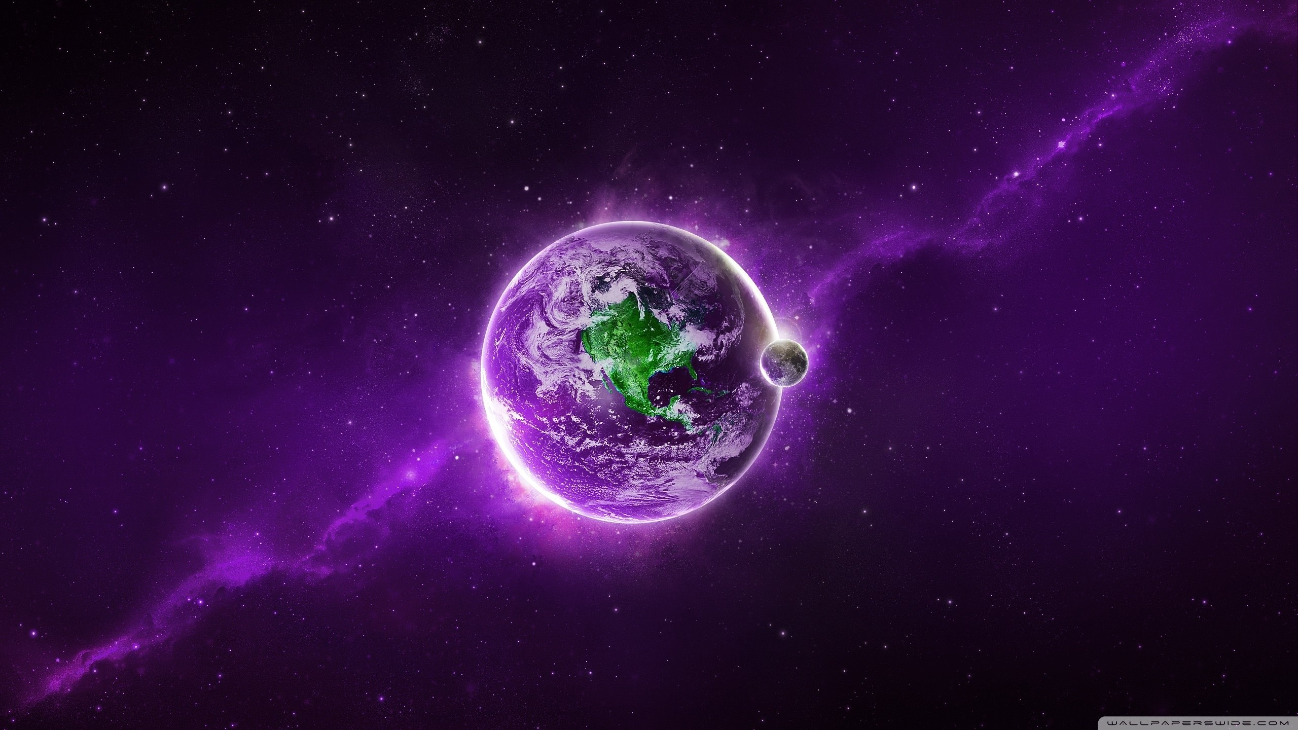 … abstract purple earth hd desktop wallpaper high definition …