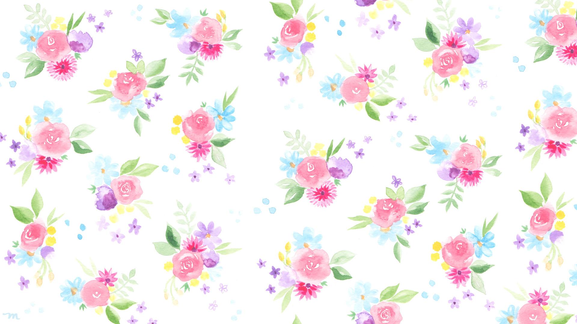 … april watercolor desktop download mospens studio …