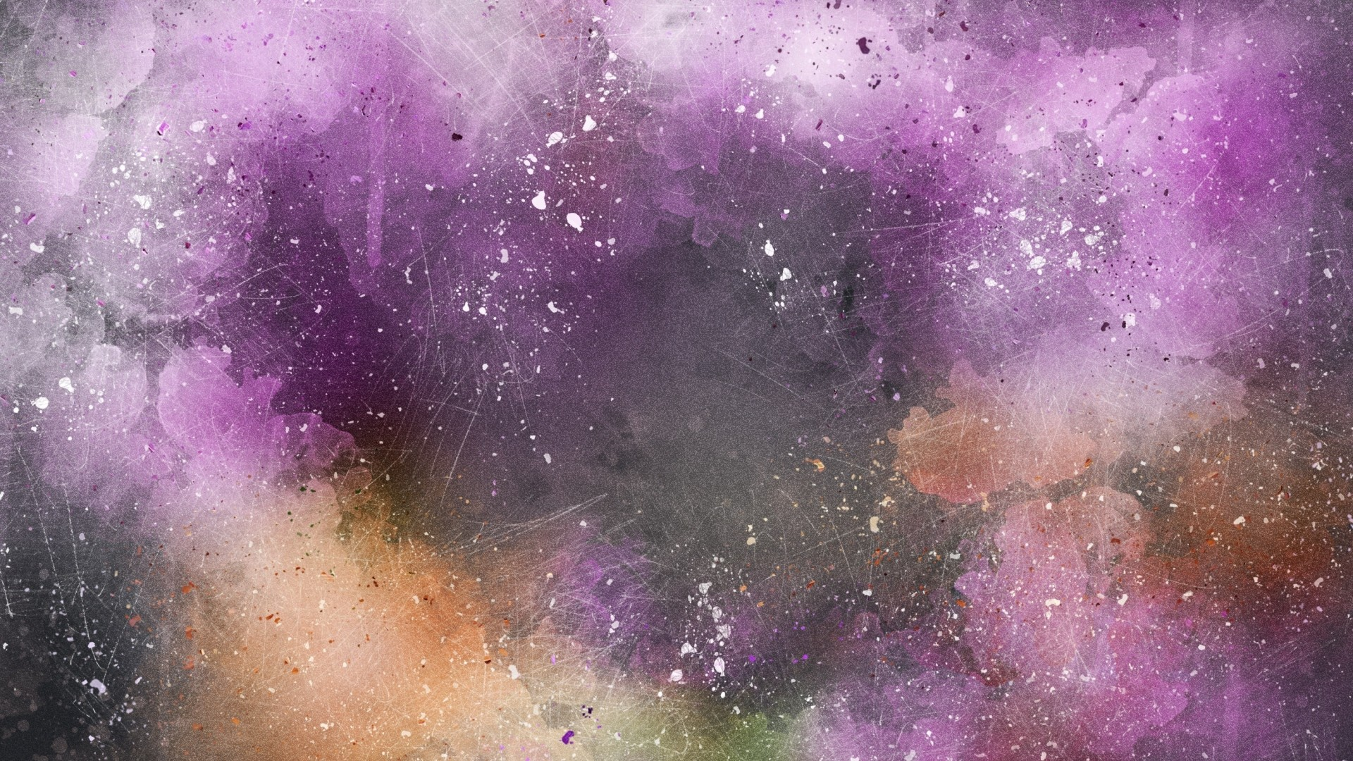 Preview wallpaper watercolor, abstraction, stains 1920×1080