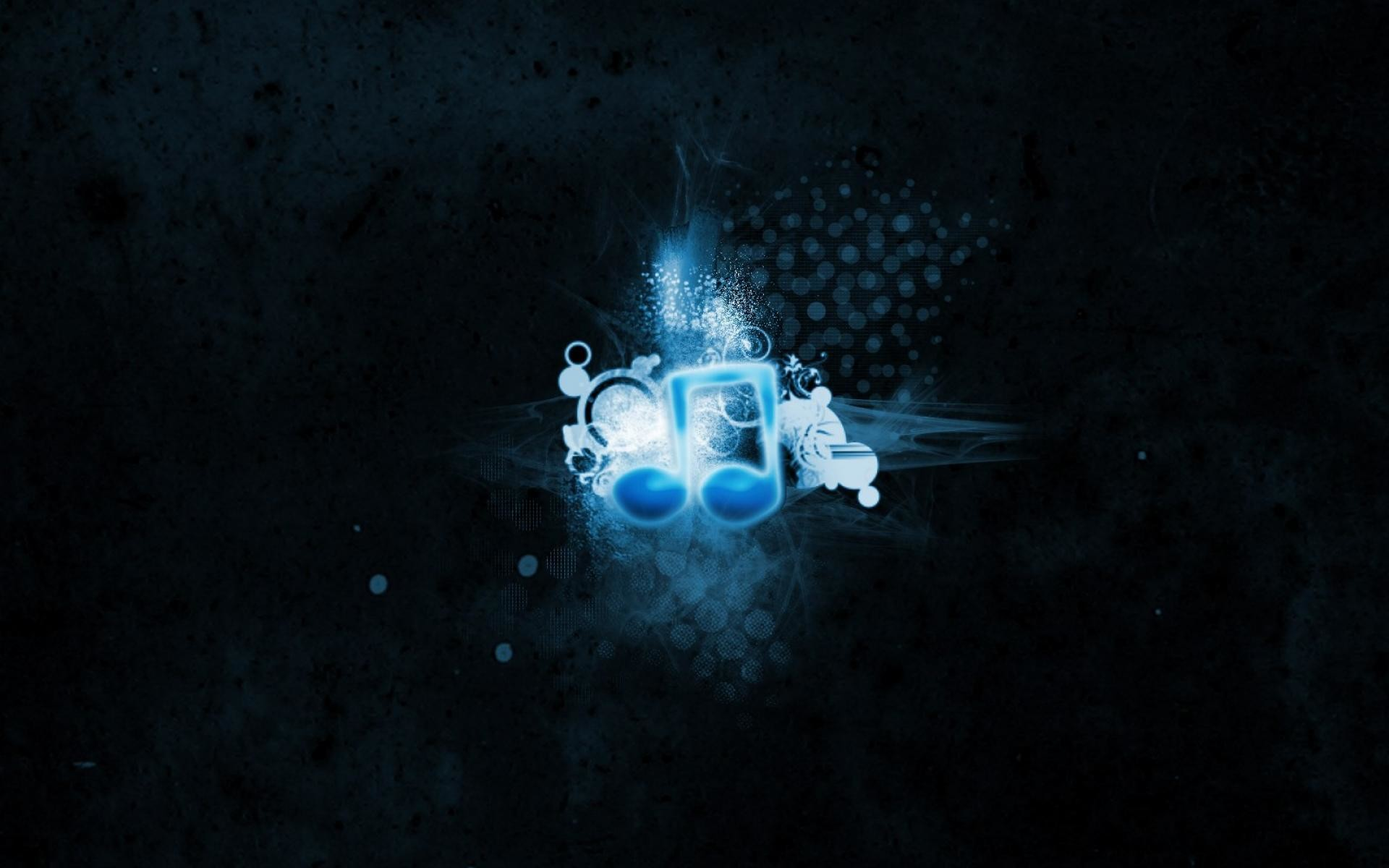 Blue Music Notes Wallpapers | Foolhardi.