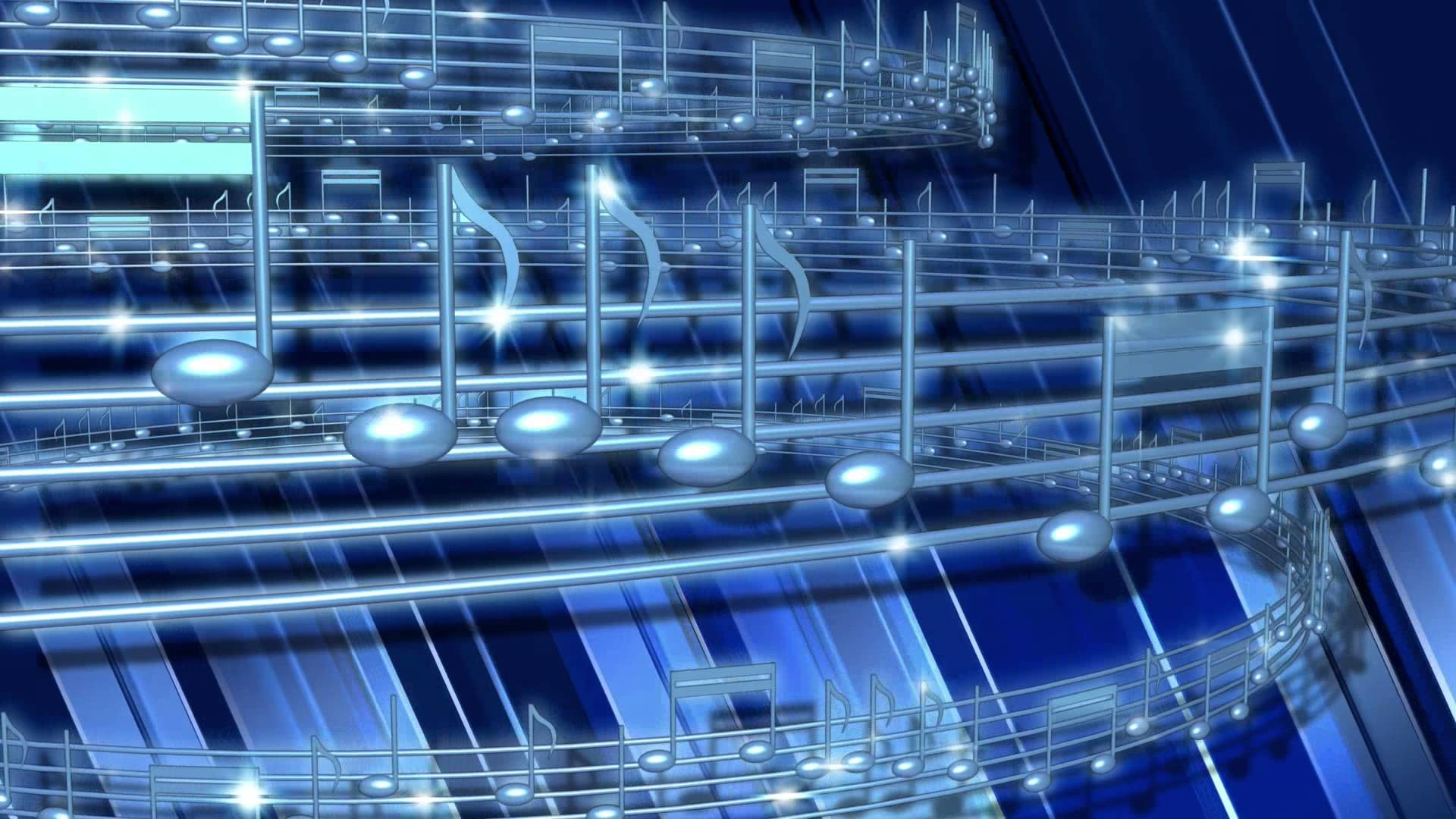 Blue Musical Notes Loop – Free Stock Video Footage – Free Stock Videos at  Videvo.net – YouTube