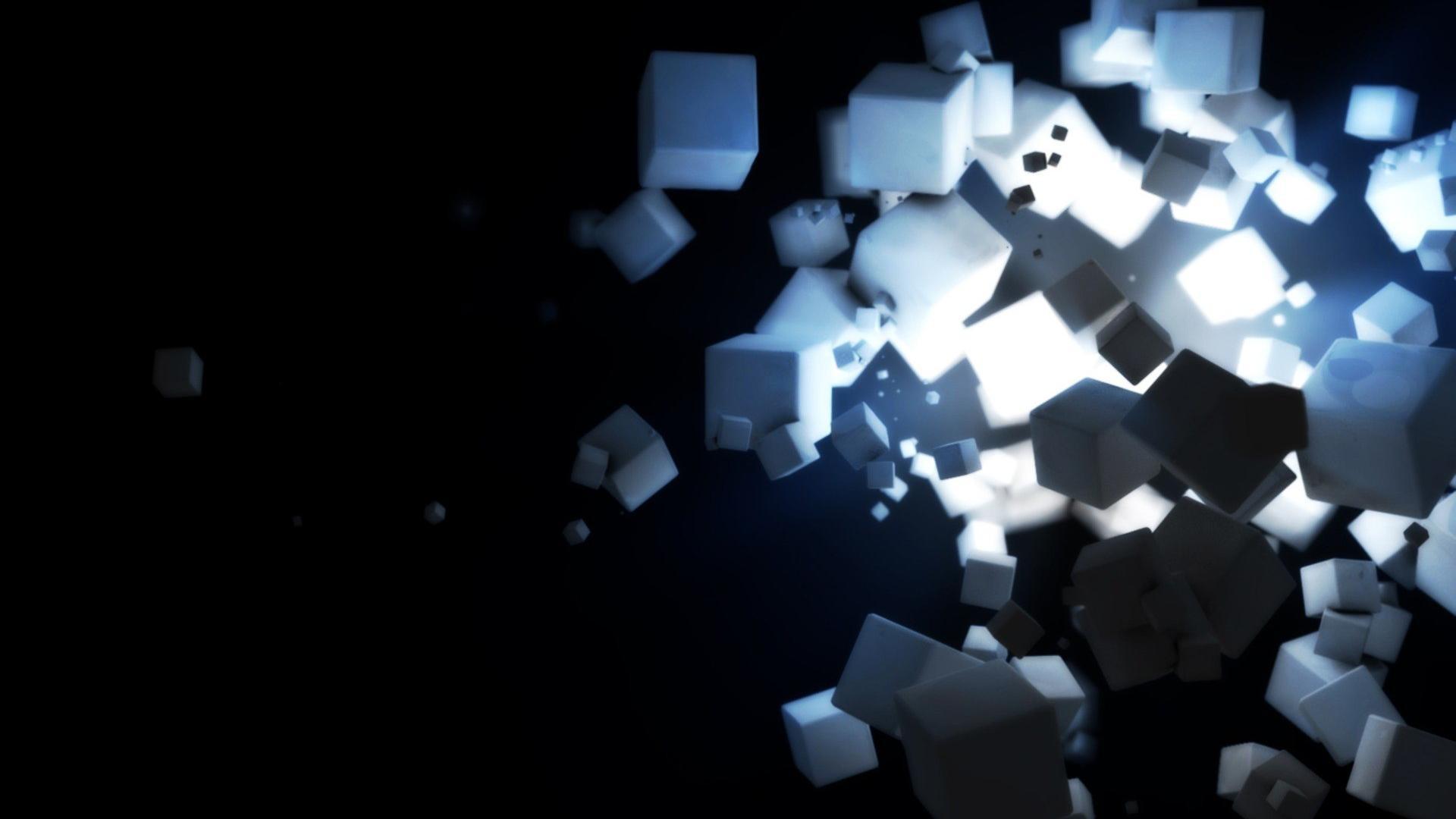 Hd Black and White Wallpapers: Light Black Dark White Sugar Cubes Hd  Wallpaper Hq 1920x1080px