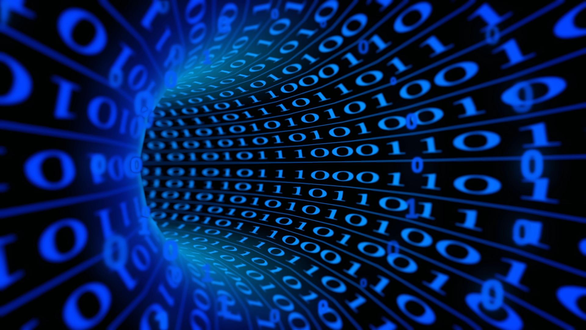 Blue Matrix Wallpaper – Mbagusi.com
