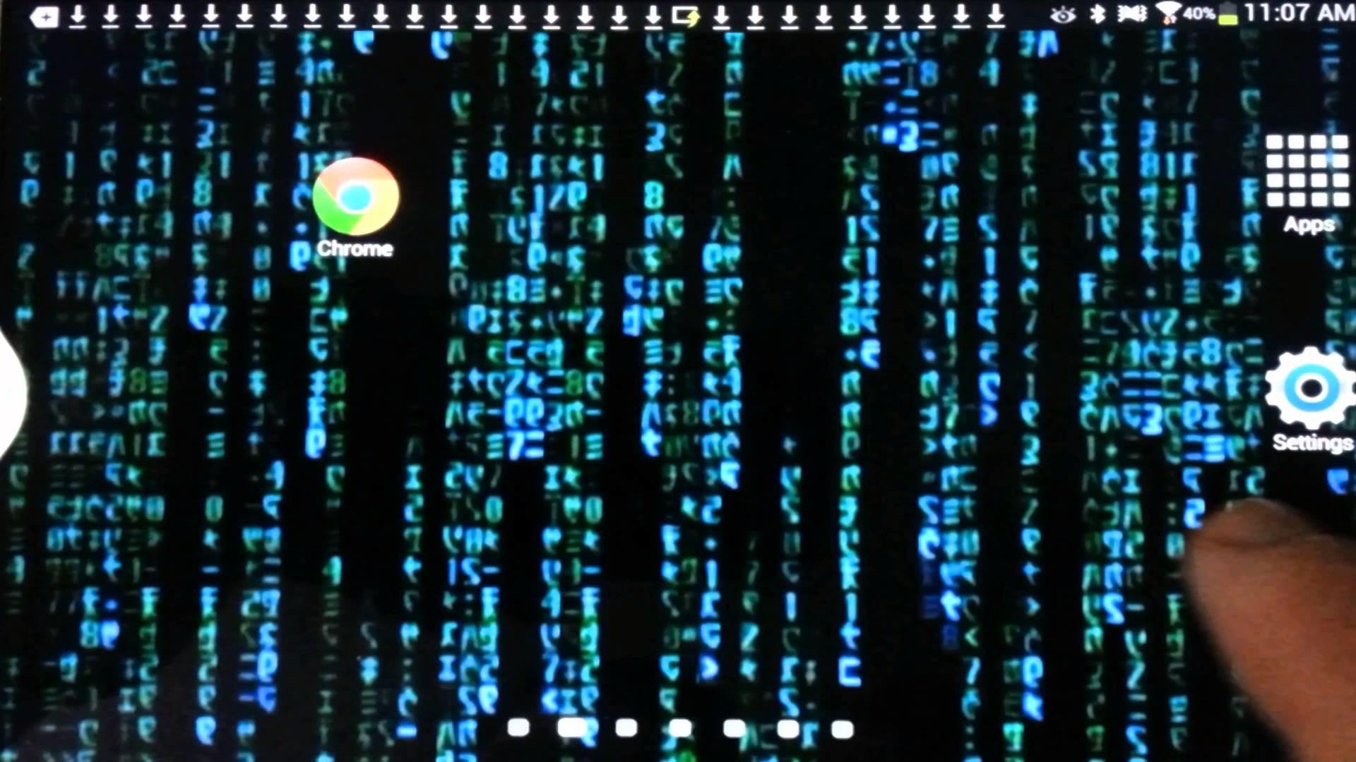 Matrix Rain Live Wallpaper – Android