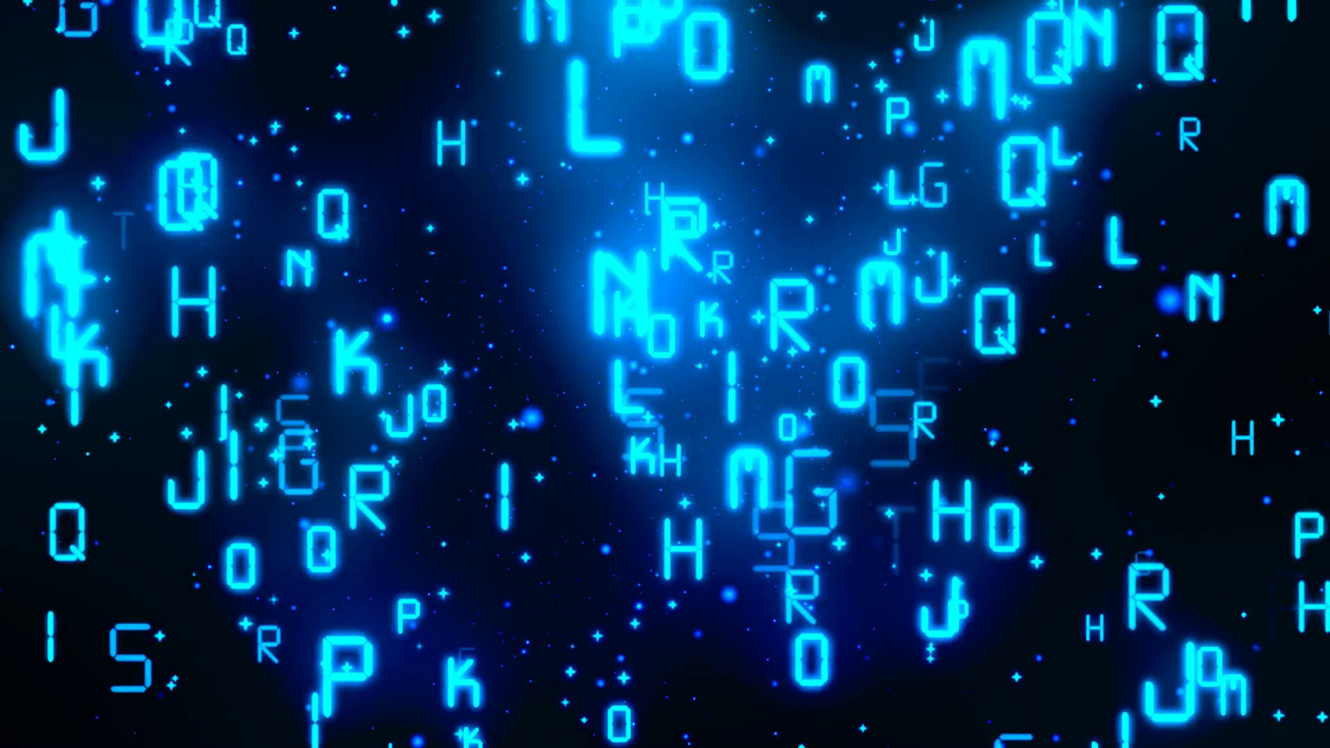 Matrix Digital Alphabets 2 Loopable Background Motion Background –  VideoBlocks