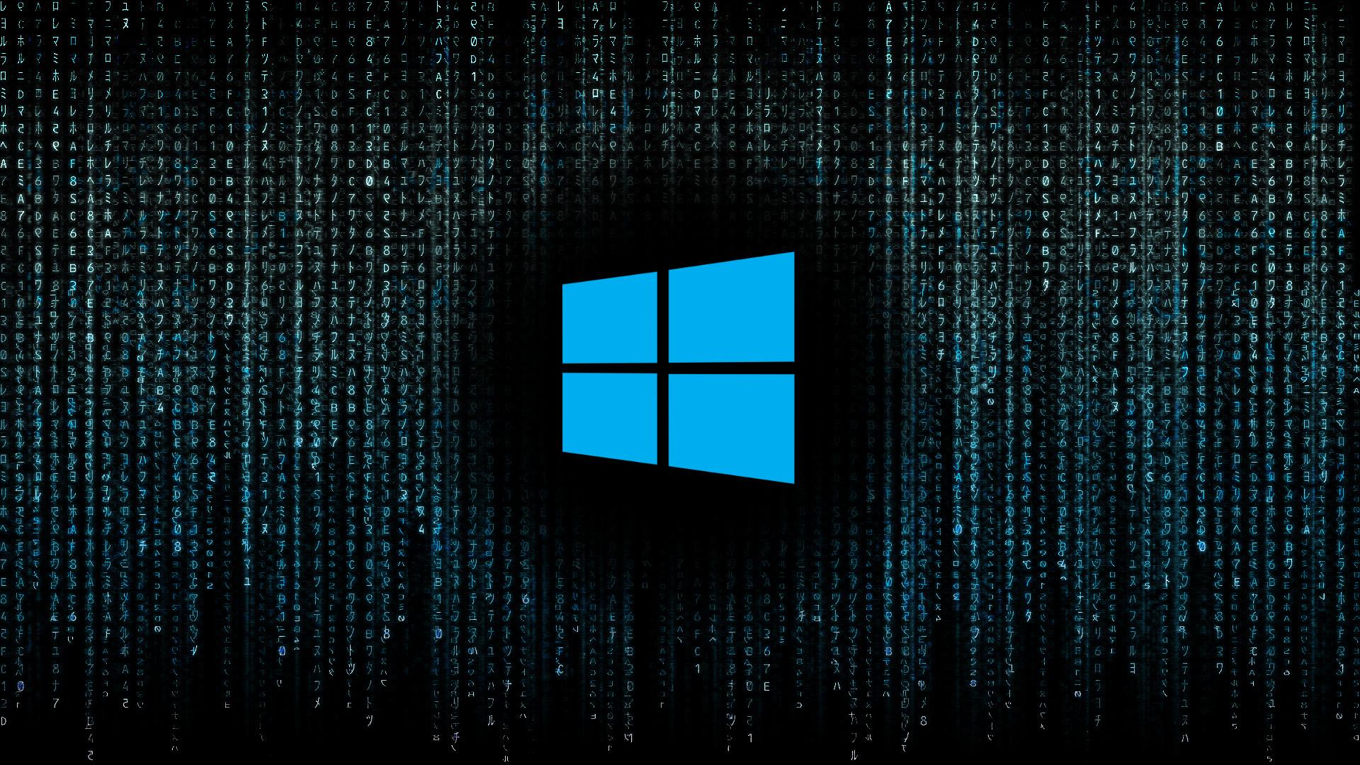 … Windows 10 Matrix – Original by DigitalRain84