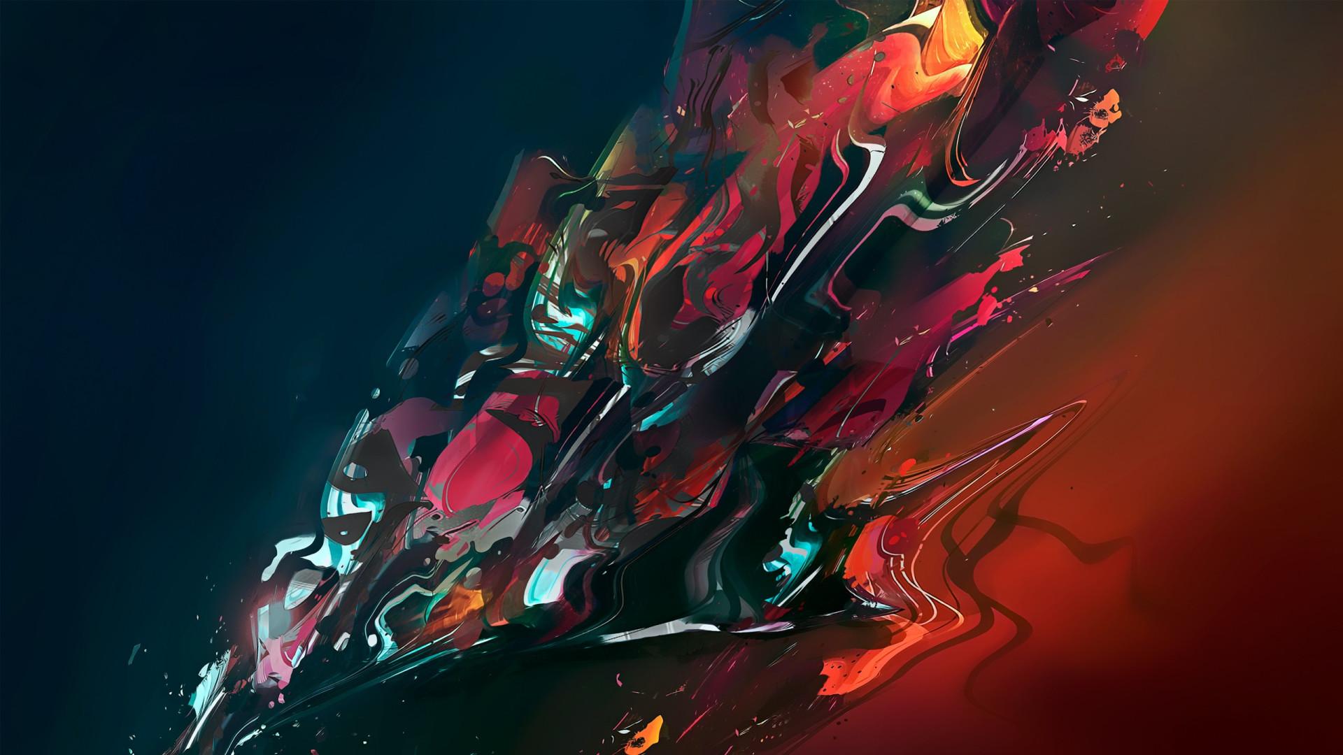 Abstract Color Cgi Painting Art Wallpaper At 3d Wallpapers