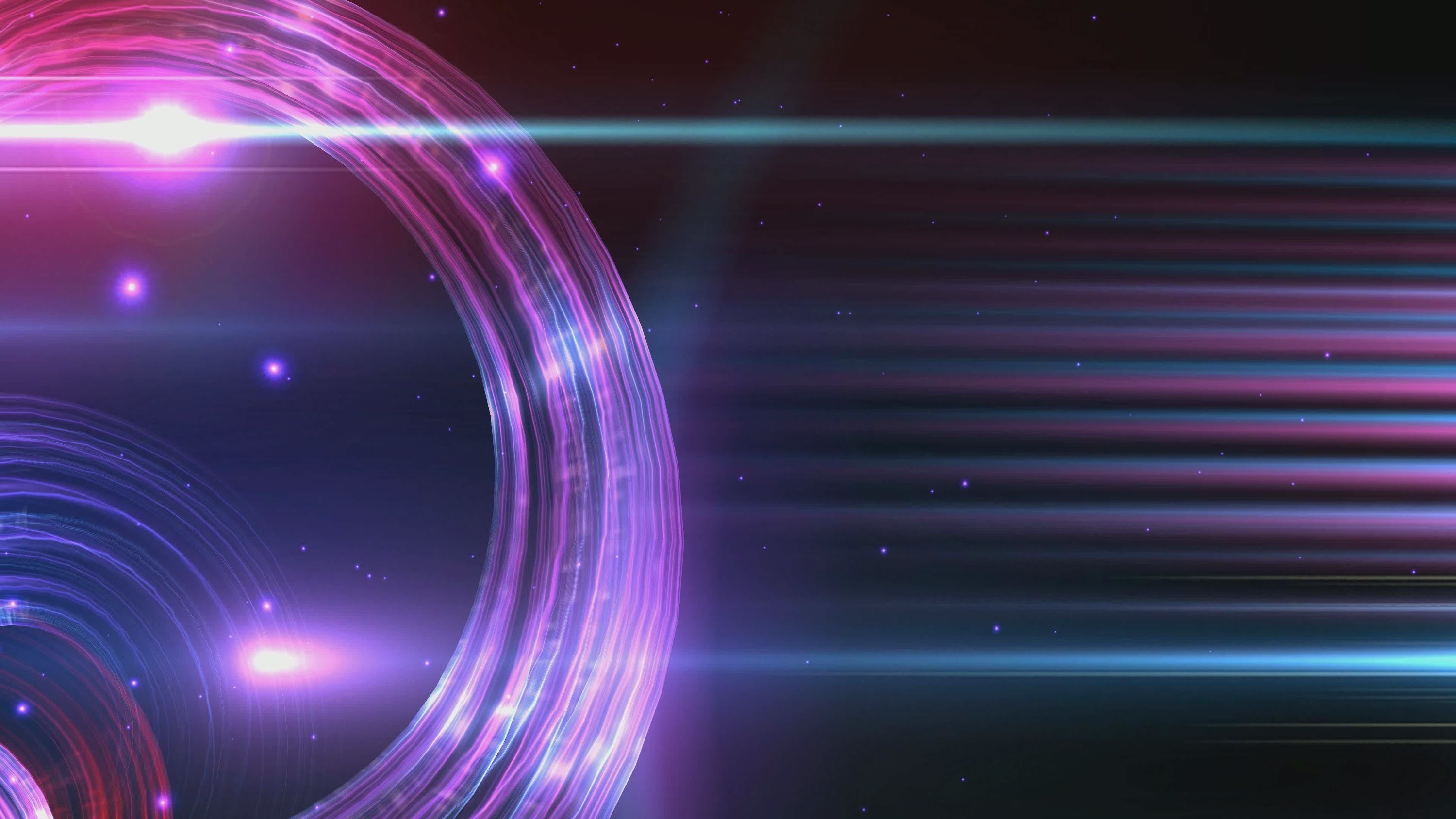 4K Spiral Waves Forms Blue Purple Ambient Space 2160p Background Video UHD  Effect – YouTube