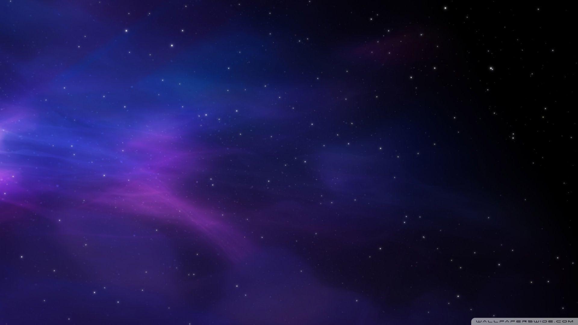 Download Space Colors Blue Purple Stars Wallpaper .