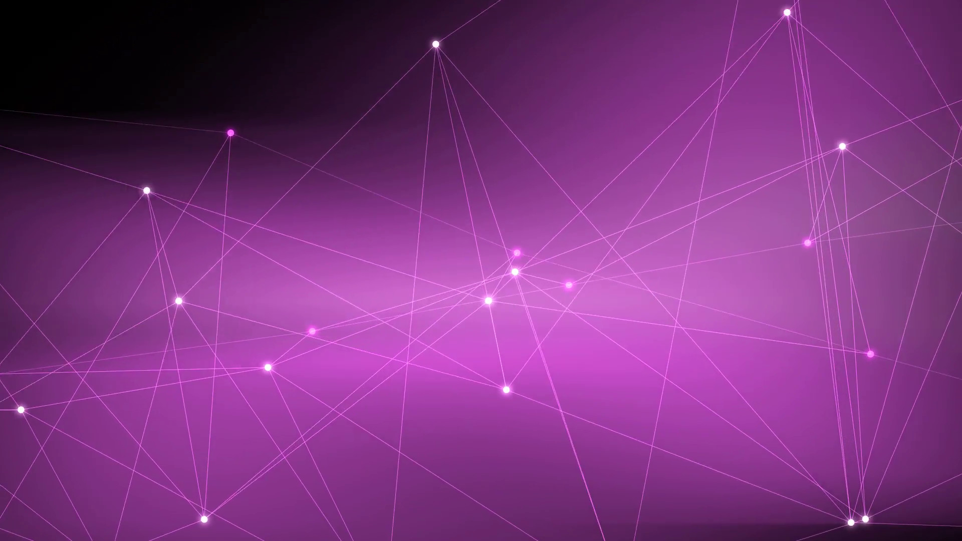 Subscription Library Purple Lines and Points Motion Background