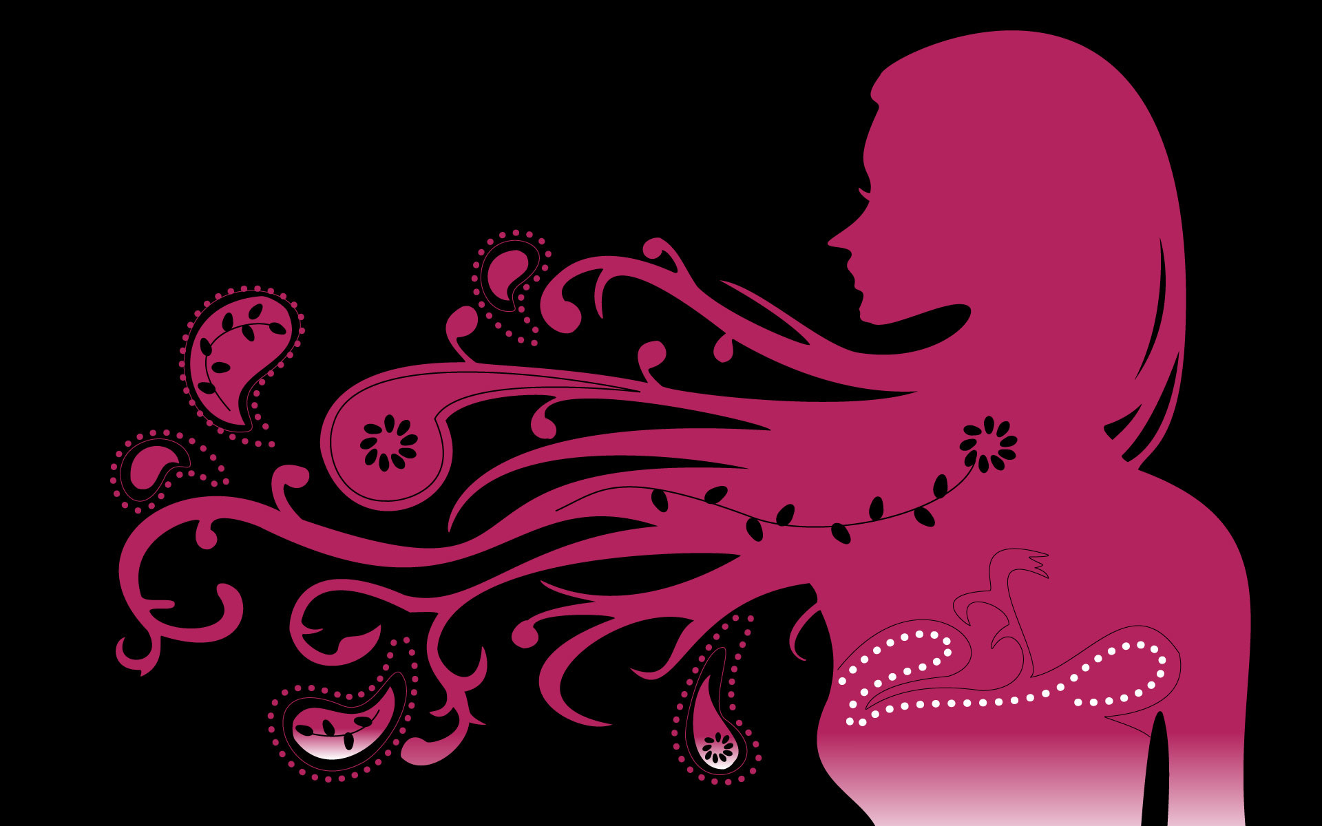 beauty abstract funky pink wallpaper #Abstract, #Beauty, #Cool, #Funky