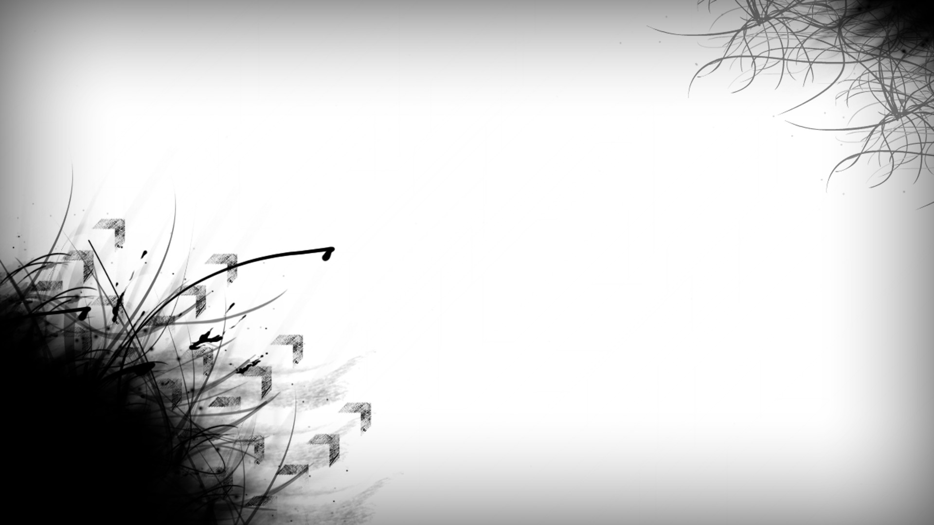 Black And White Wallpaper Abstract