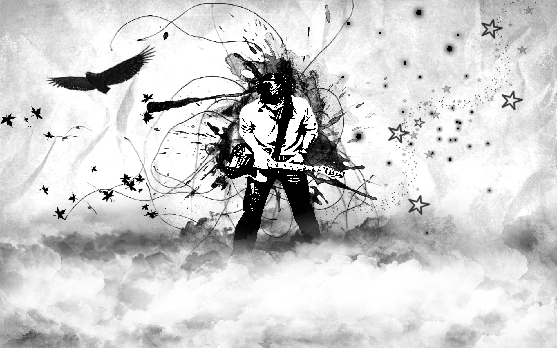 cool black and white wallpaper by missycla on deviantart with black and  white wallpaper.