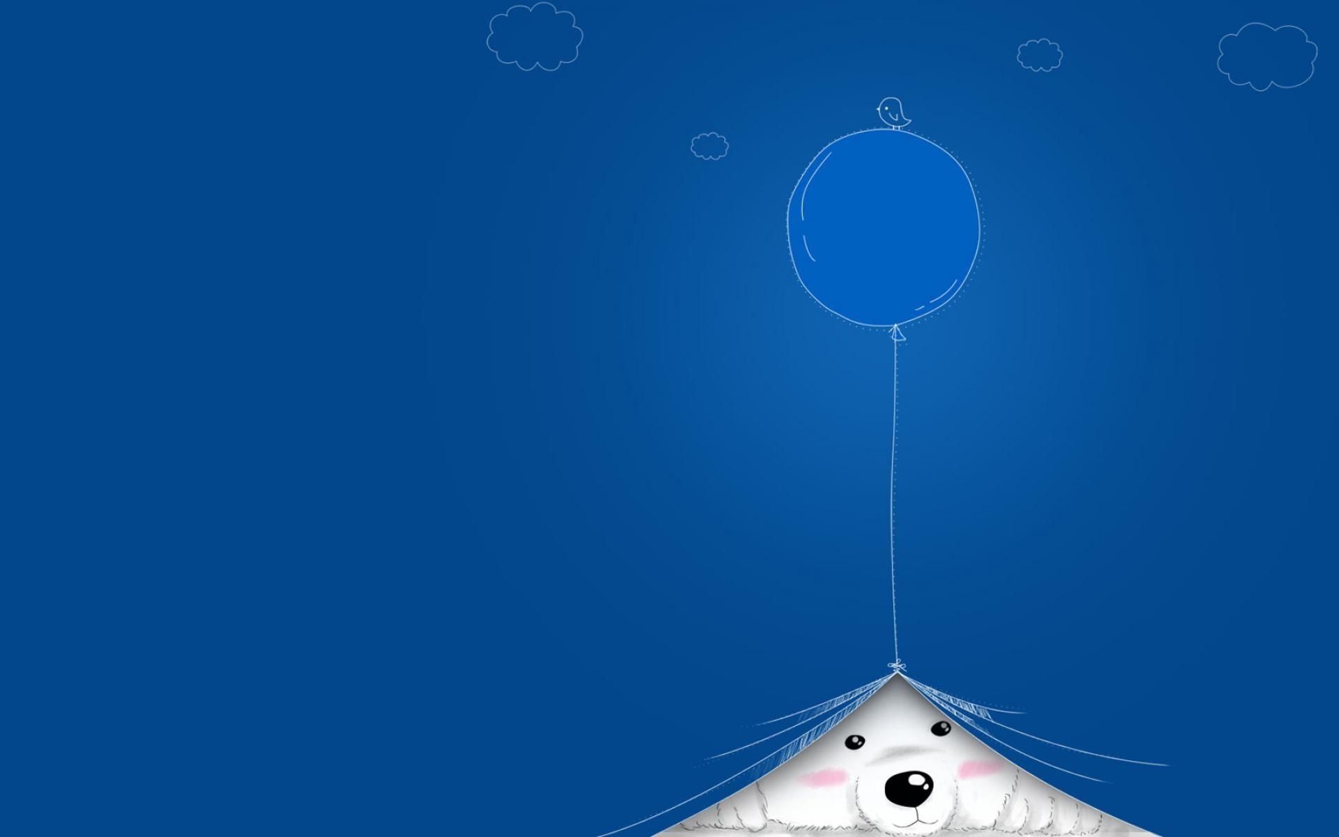 Wallpapers For > Cute Light Blue Wallpaper