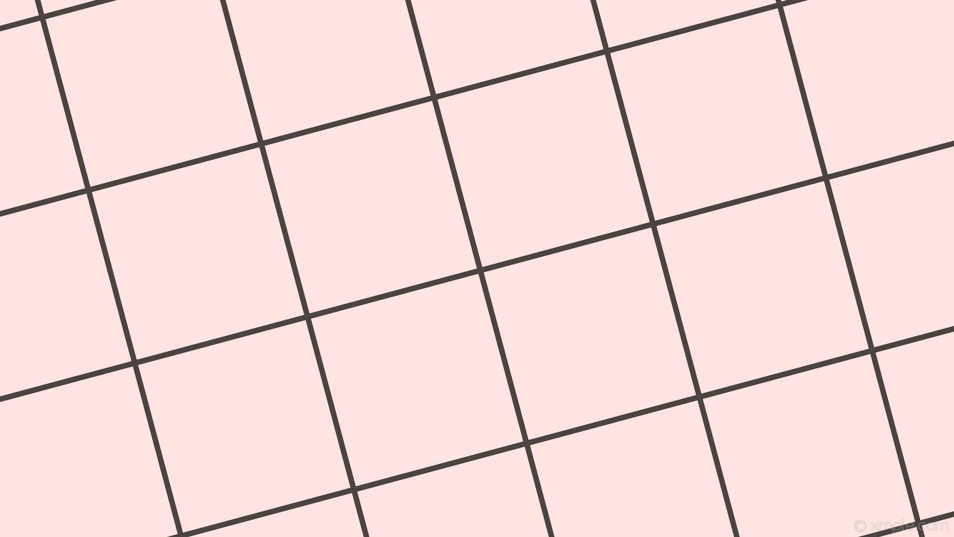 wallpaper graph paper grid black white misty rose #ffe4e1 #000000 15° 11px  360px