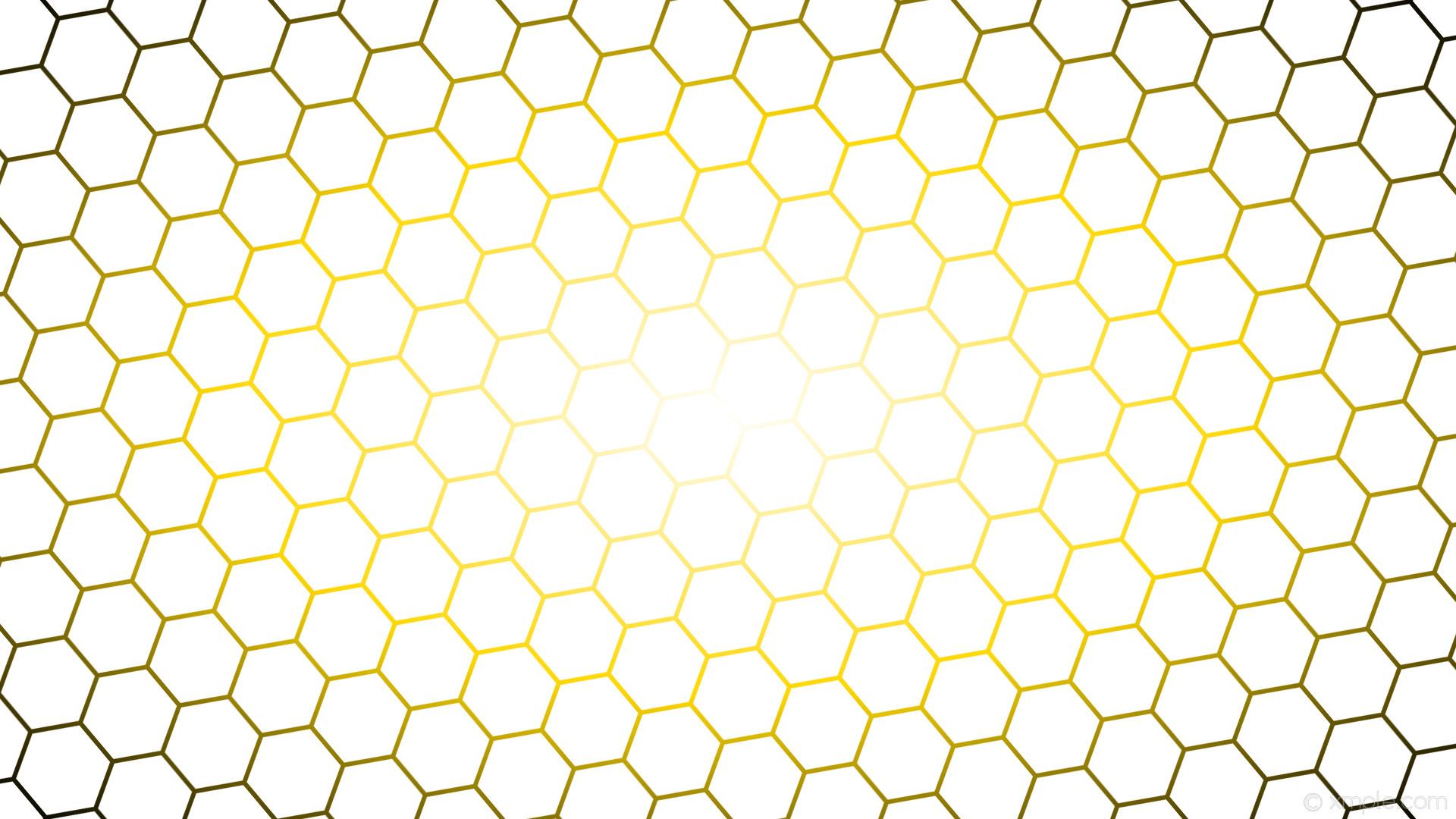 wallpaper black hexagon glow gradient yellow white gold #ffffff #ffffff  #ffd700 diagonal 40