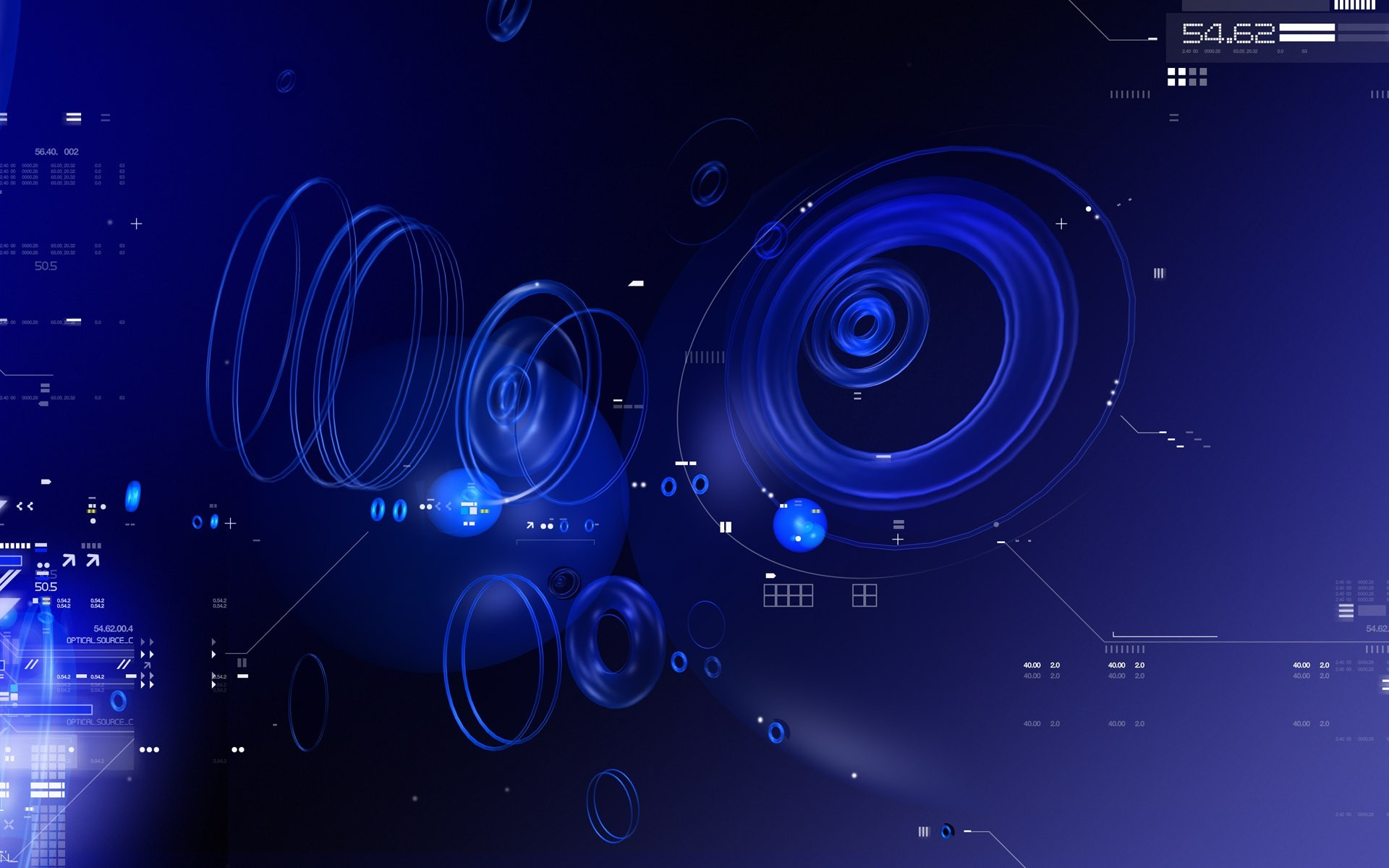 Download Blue Tech wallpaper (1920×1200)