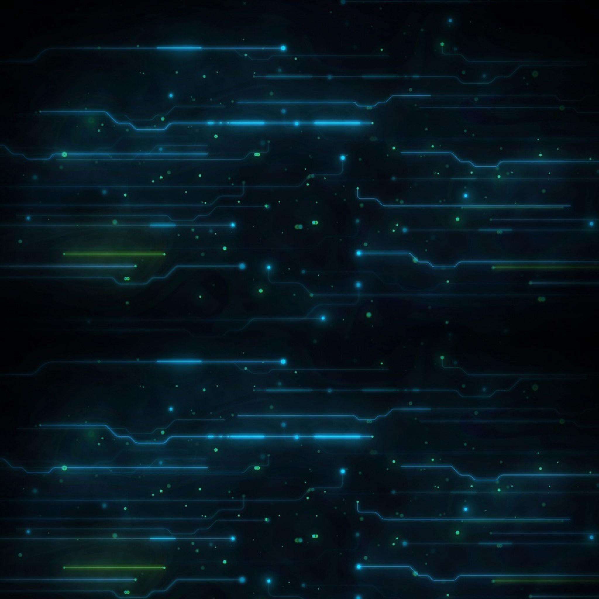 Gallery for – high tech blue wallpaper