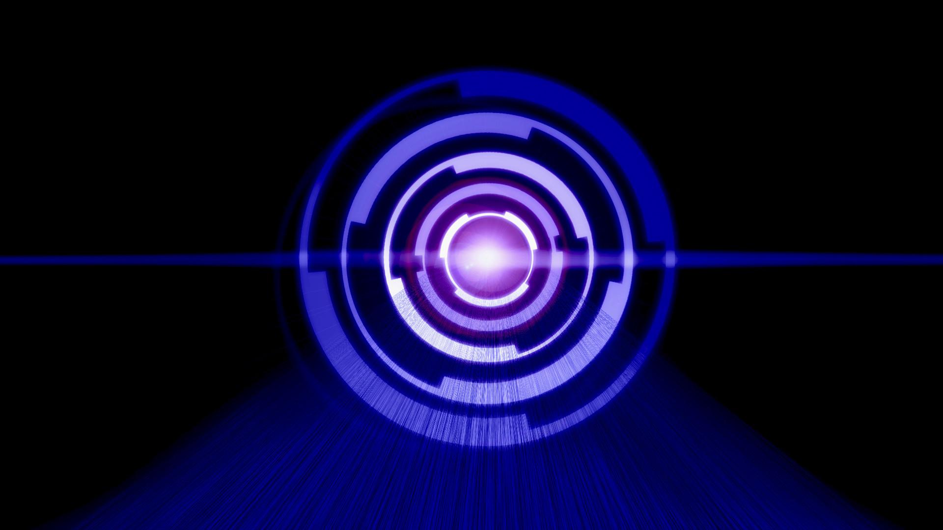 … Dark Blue Tech HD by txvirus