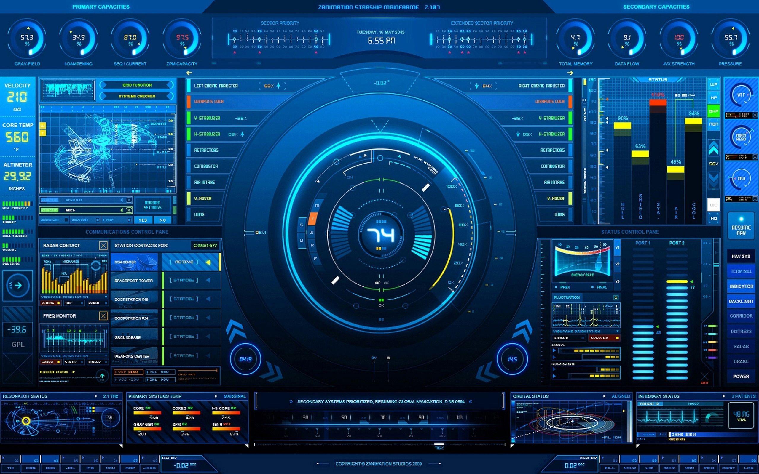 Cool High Tech wallpaper