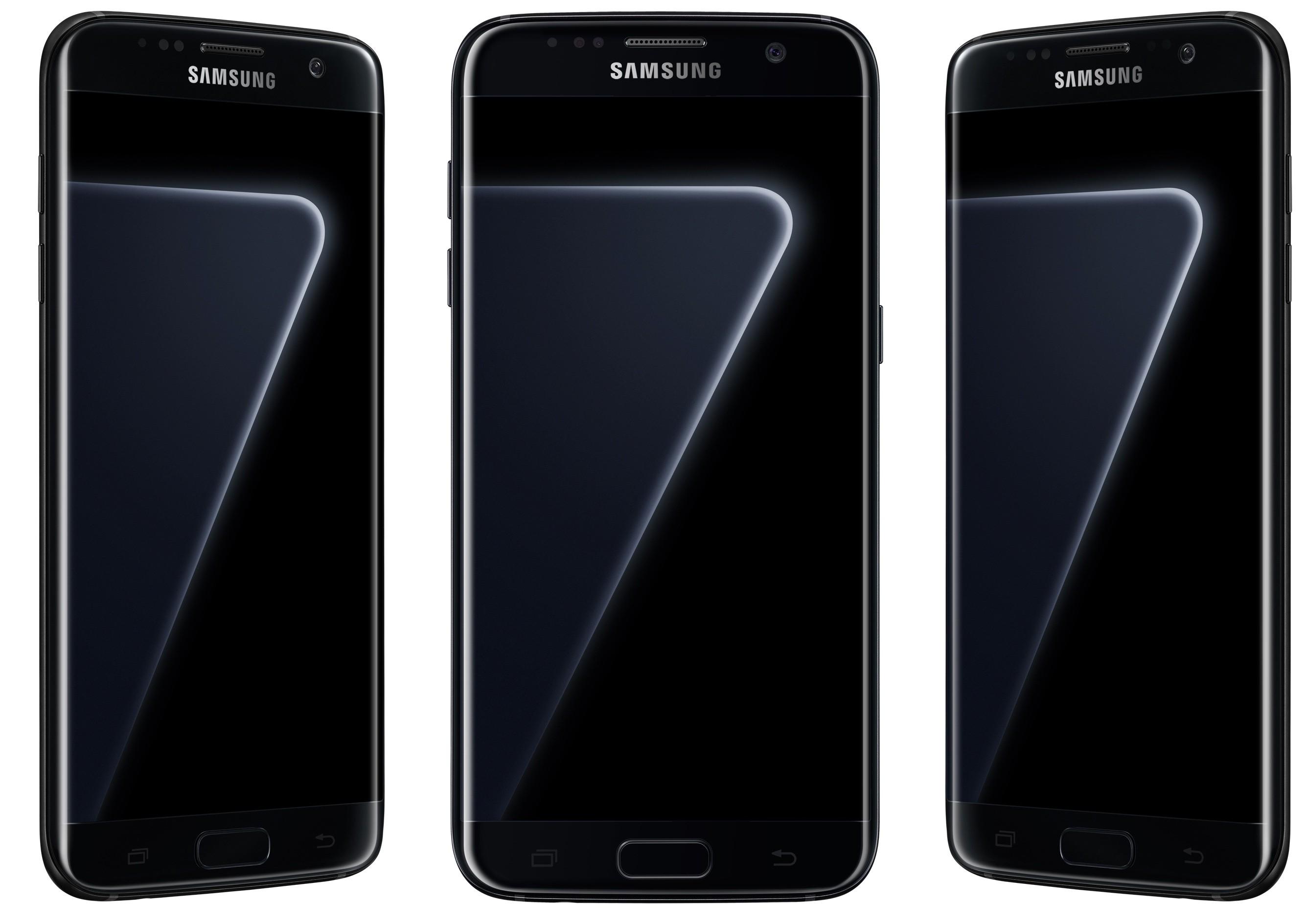 Samsung Galaxy S7 Black Pearl front 001