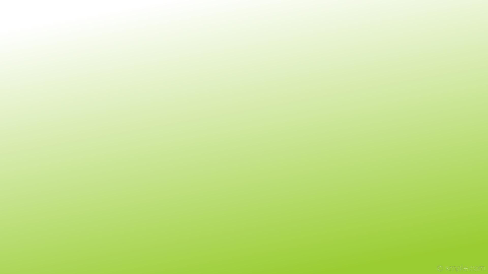 wallpaper linear green gradient white yellow green #9acd32 #ffffff 300°
