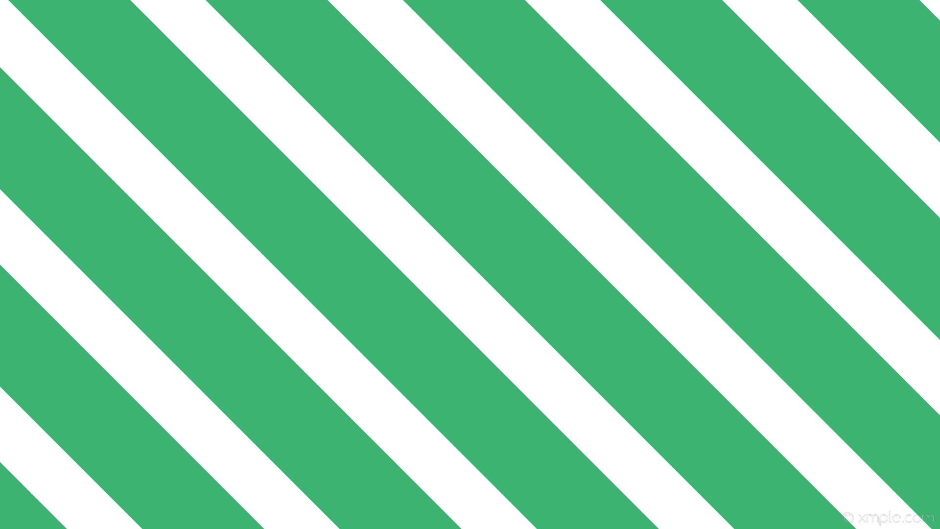 wallpaper white lines green streaks stripes medium sea green #ffffff  #3cb371 diagonal 315°