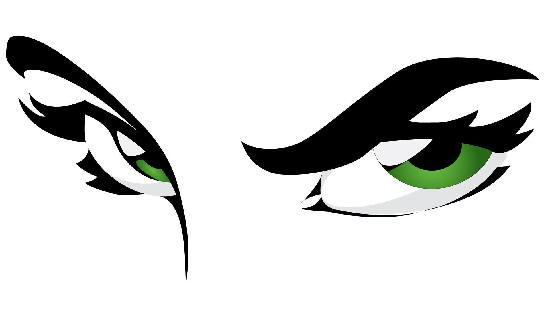 Eyes green eyes graphics white background vector wallpaper | |  200817 | WallpaperUP