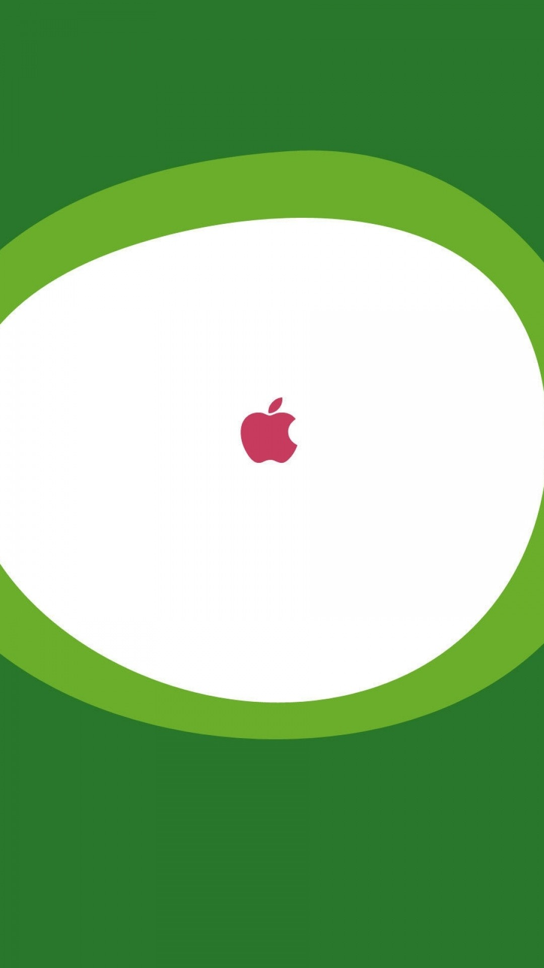 Wallpaper android, green, apple, pink, white
