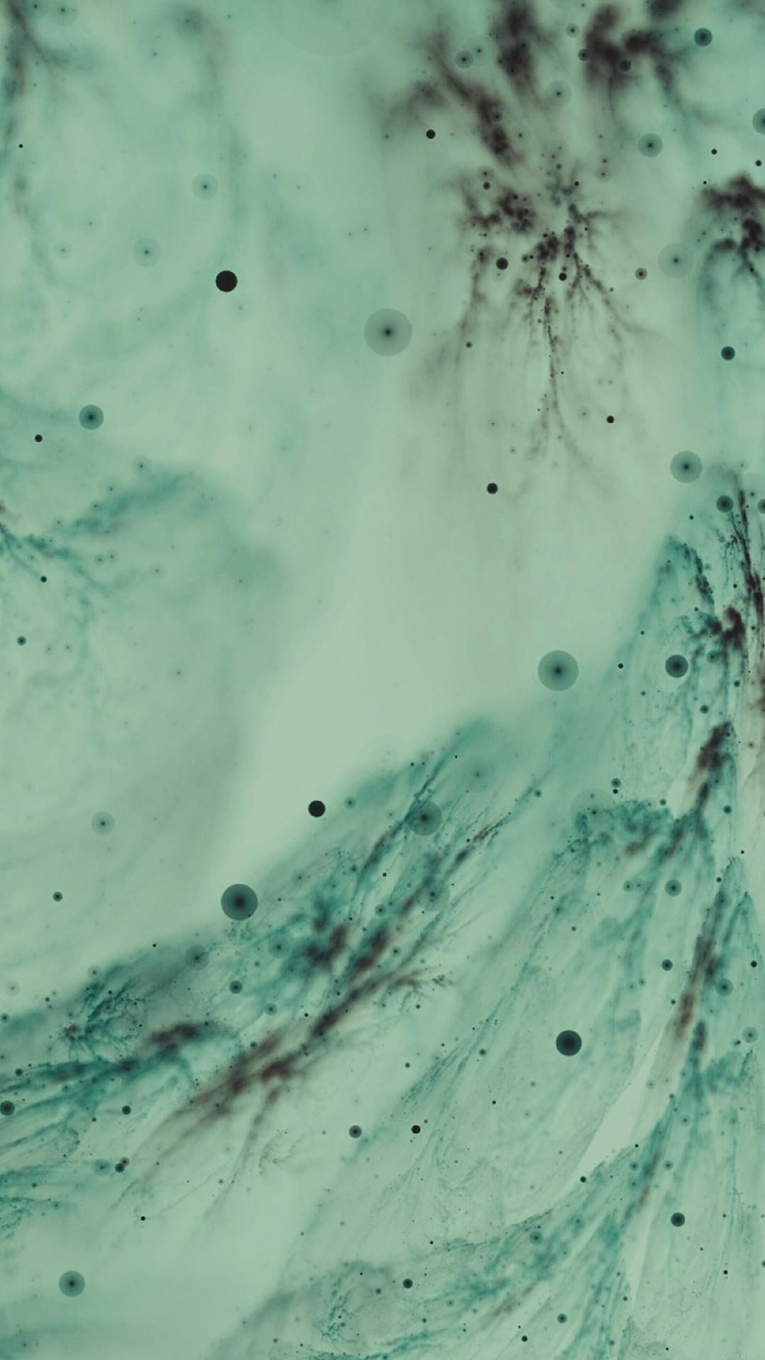 White Christmas Snow Green Pattern Art #iPhone #6 #plus #wallpaper