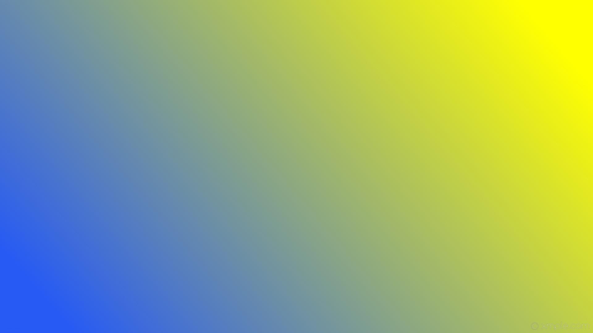 wallpaper linear gradient blue yellow #275af4 #ffff00 195°