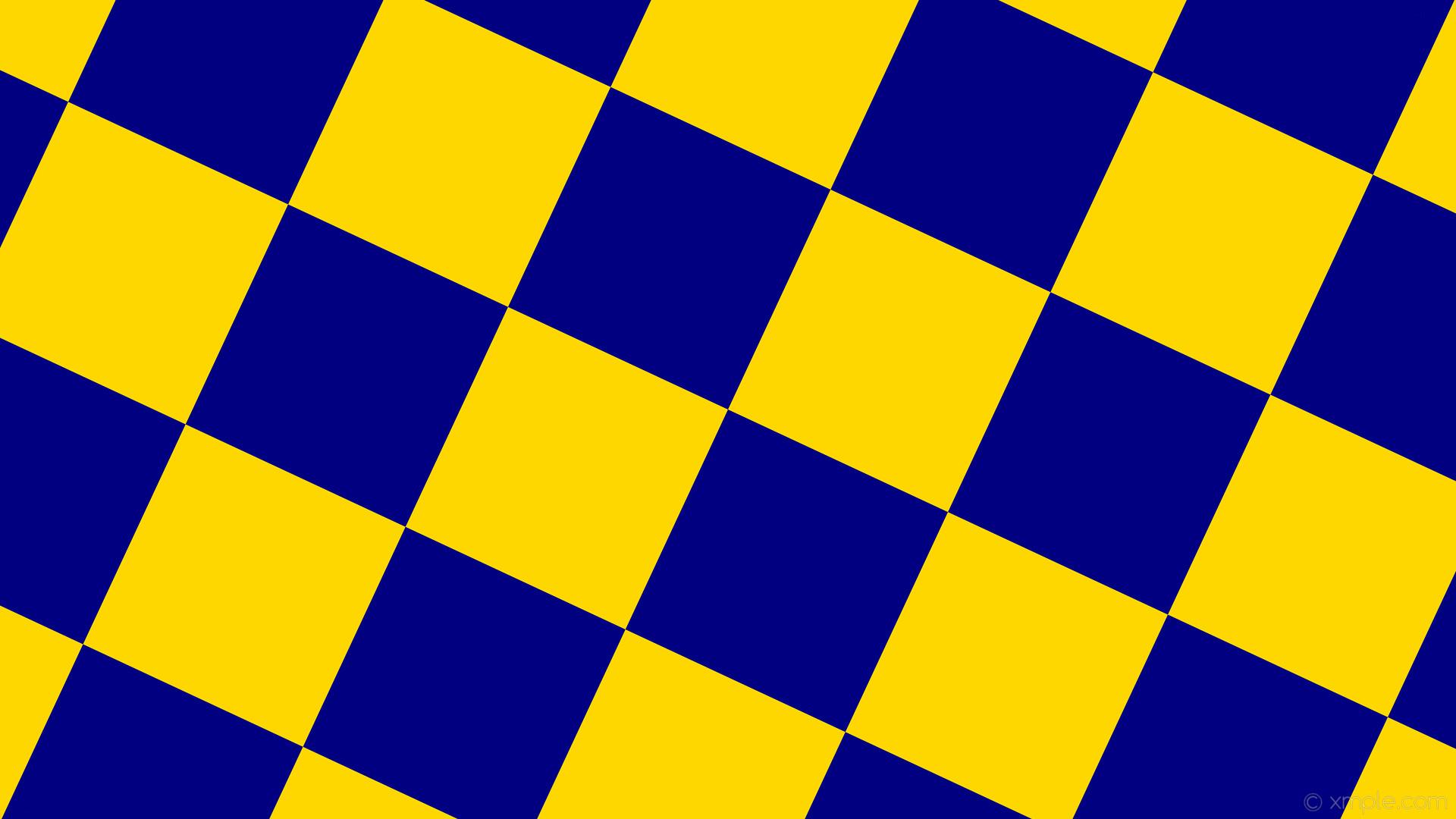 wallpaper squares yellow checkered blue gold navy #ffd700 #000080 diagonal  65° 320px