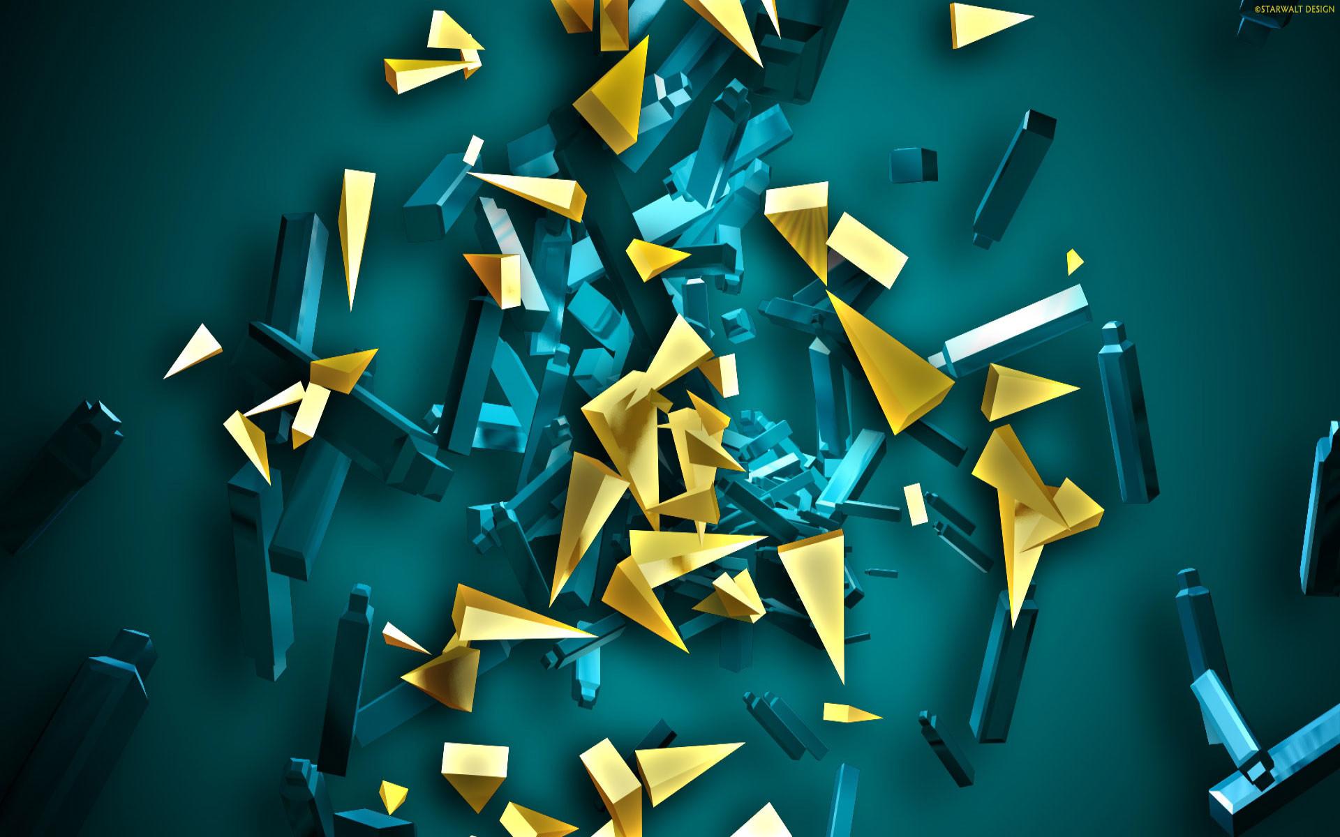 cool 3d abstract wallpaper