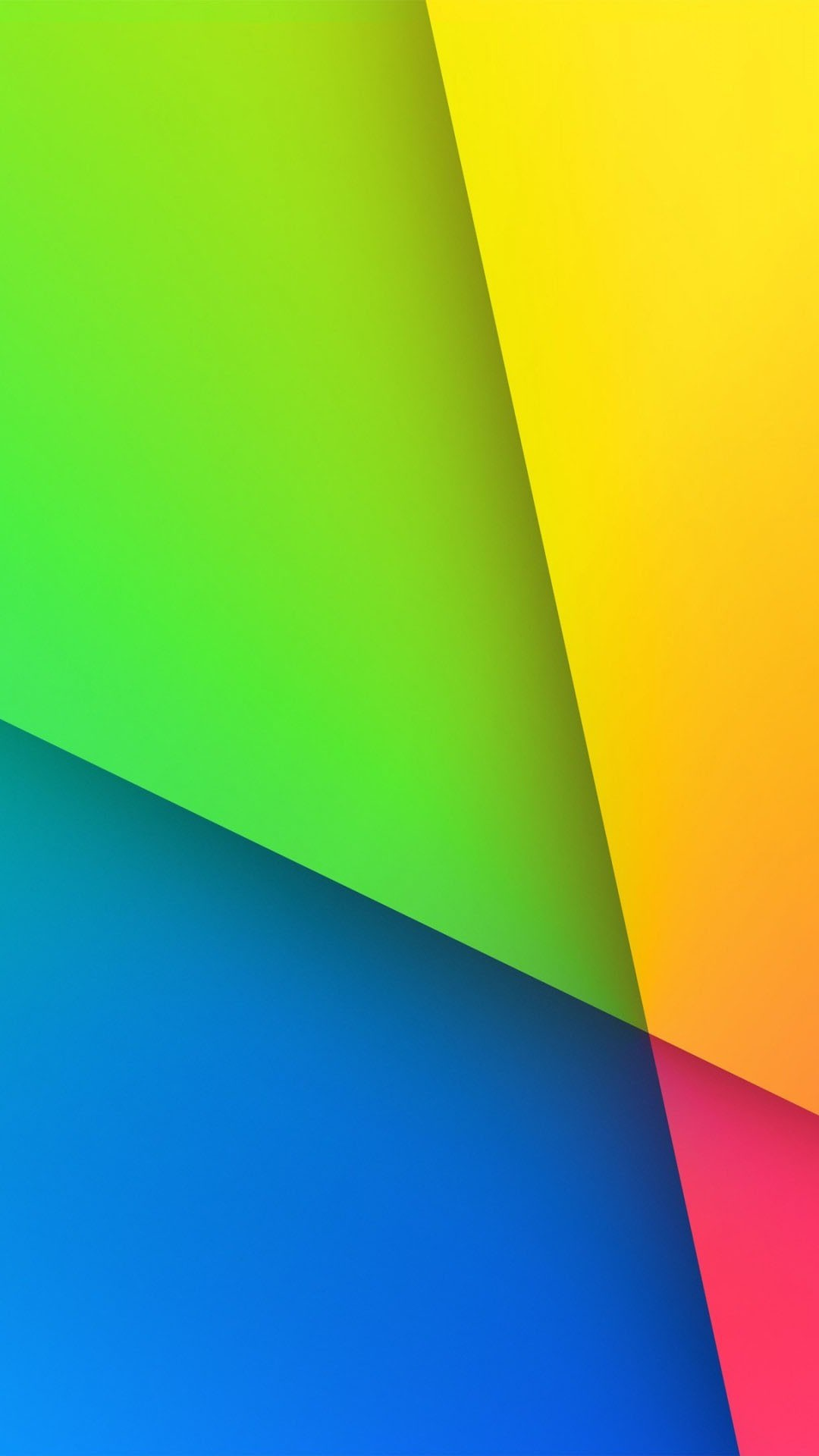 colorful yellow blue pink green background 1080×1920