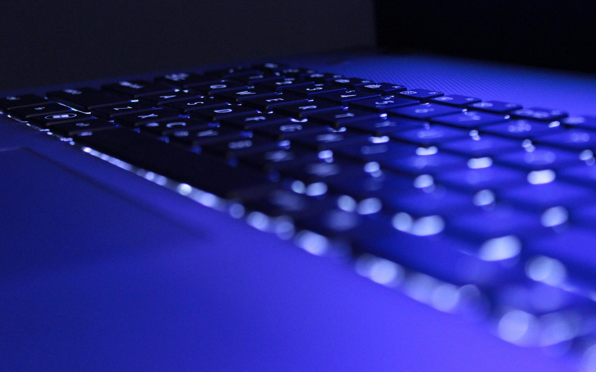 Keyboard Macro Blue computer wallpaper | | 45213 | WallpaperUP