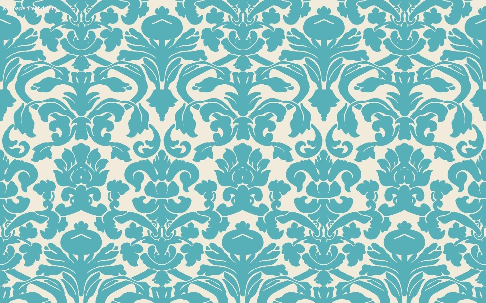 Blue damask wallpaper free wallpapers hd desktop backgrounds | Black .