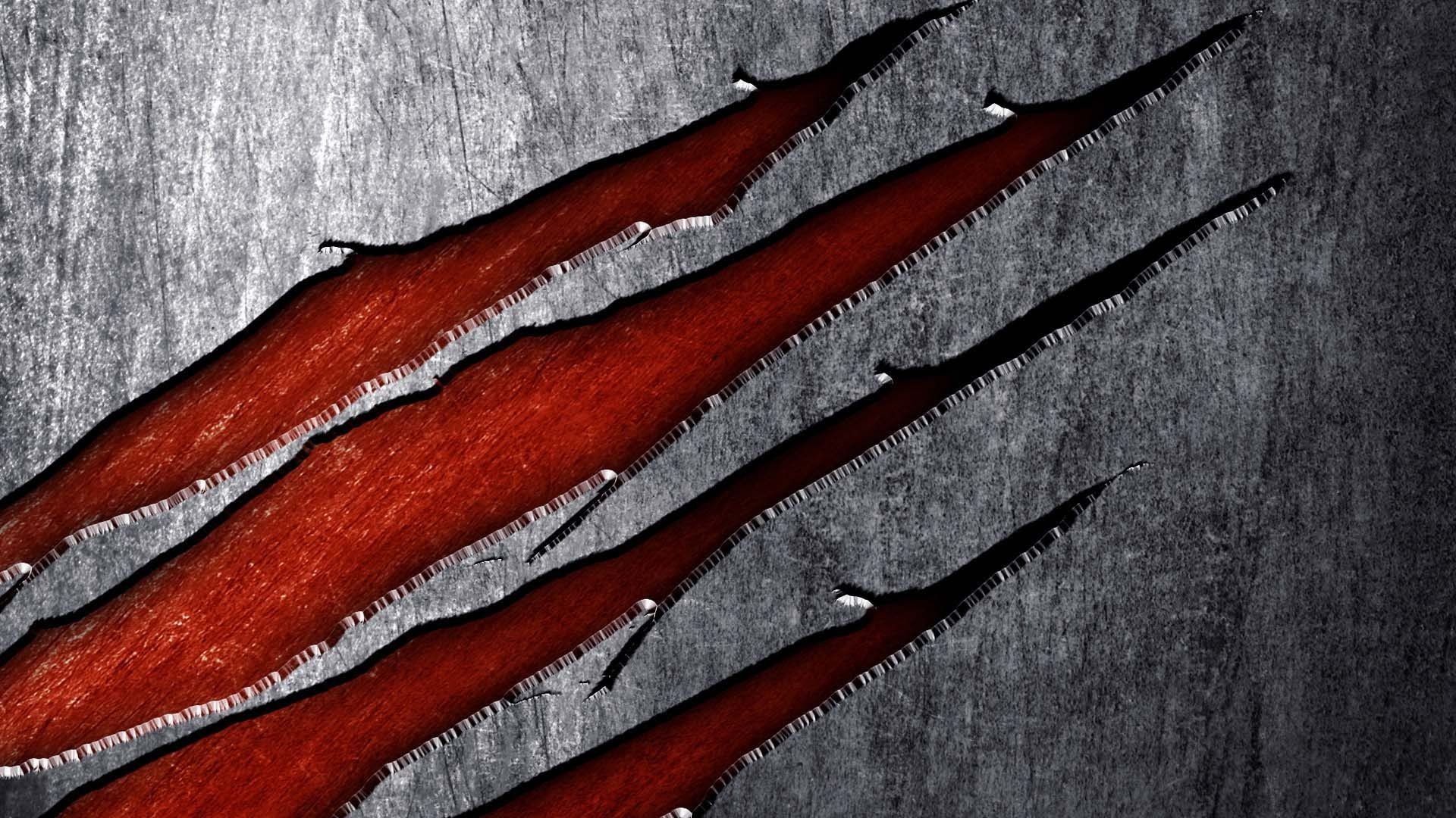 Gashes On Metal   HD 3D and Abstract Wallpaper Free Download …