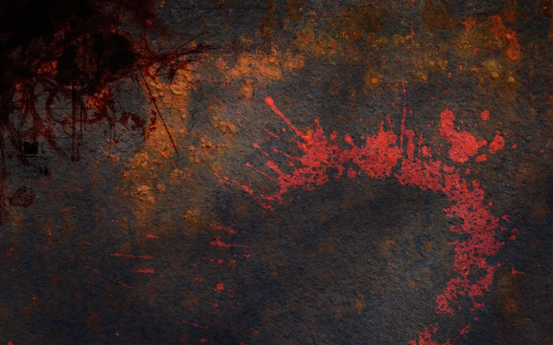 Grunge metal paint splashes wallpaper     295097   WallpaperUP