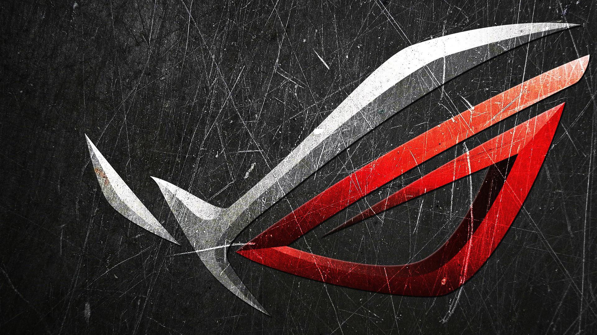 Asus Logo Metal Scratch 08 HD Wallpaper