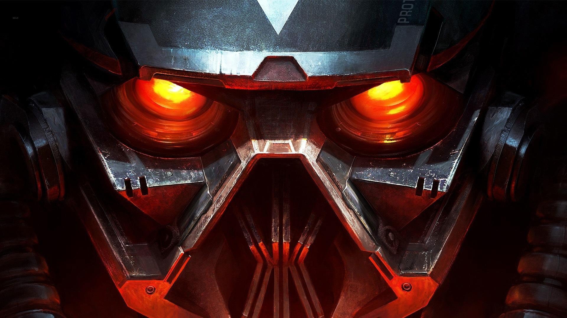 hd pics photos metal robot eye transformer hollywood glowing red eye  technology hd quality desktop background