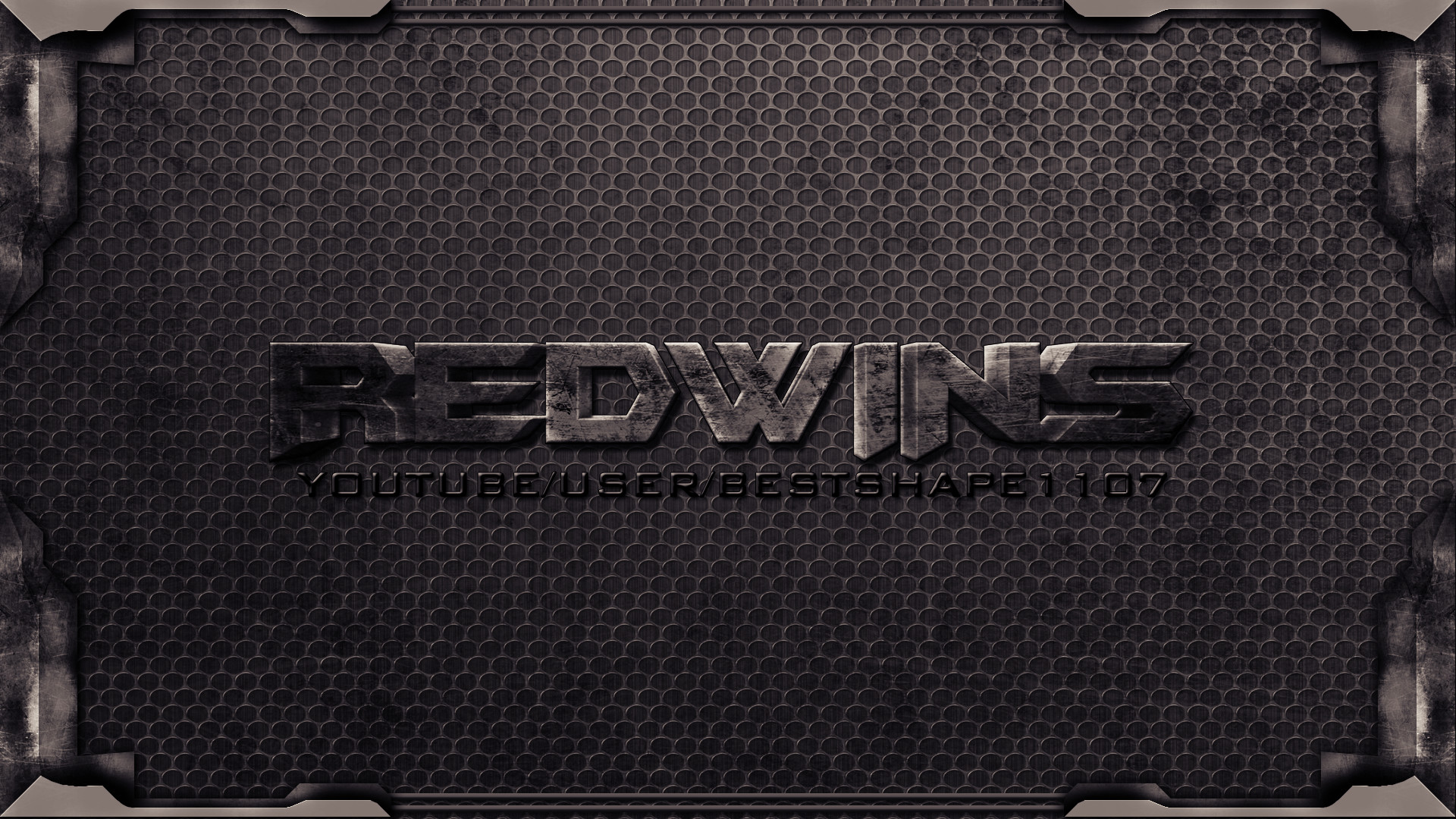 … background 3d text metal by Red-wins
